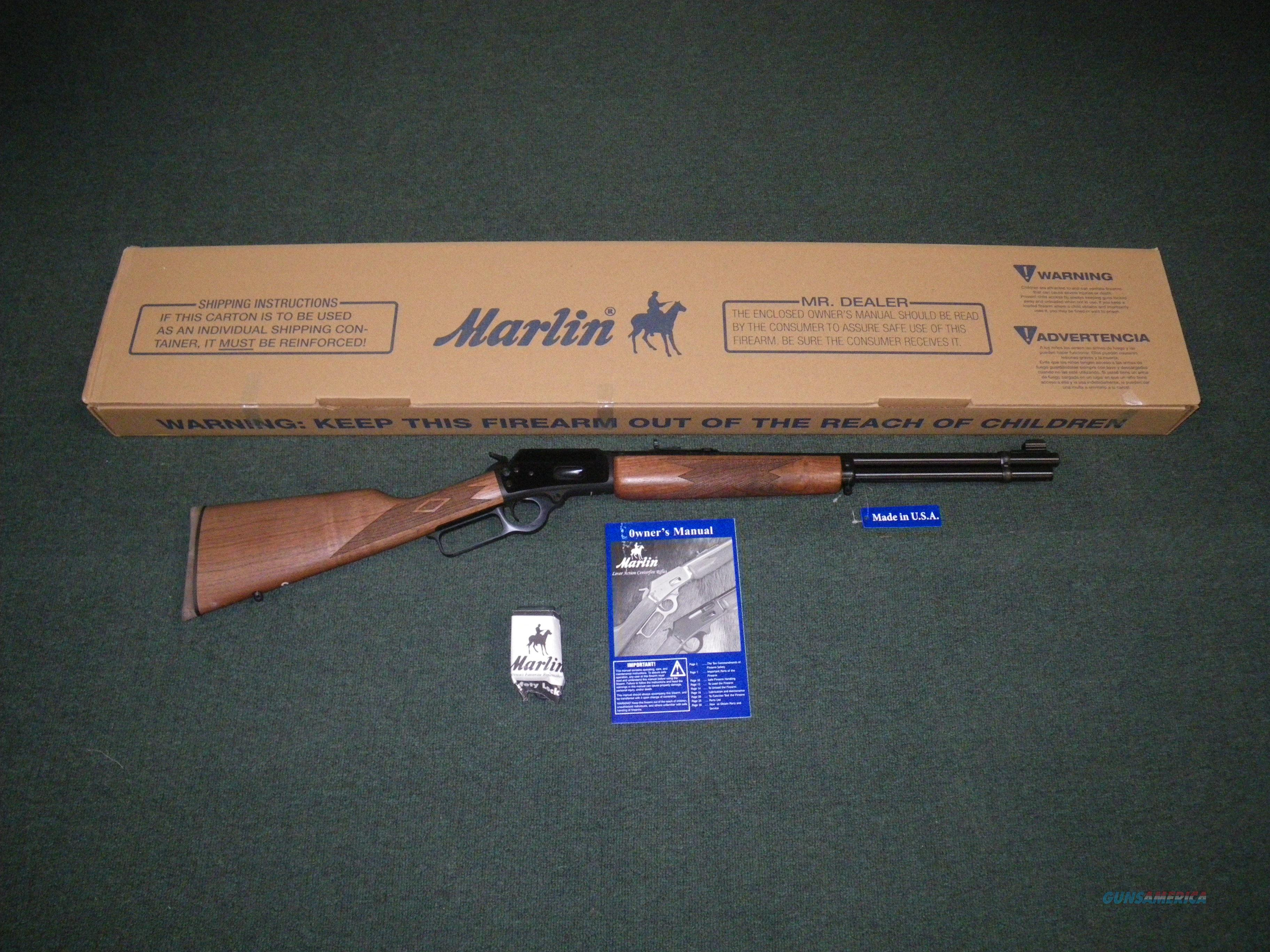 "Marlin Model 1894 44mag/44spl 20"" Blue/Walnut NEW #70400  Guns > Rifles > Marlin Rifles > Modern > Lever Action"