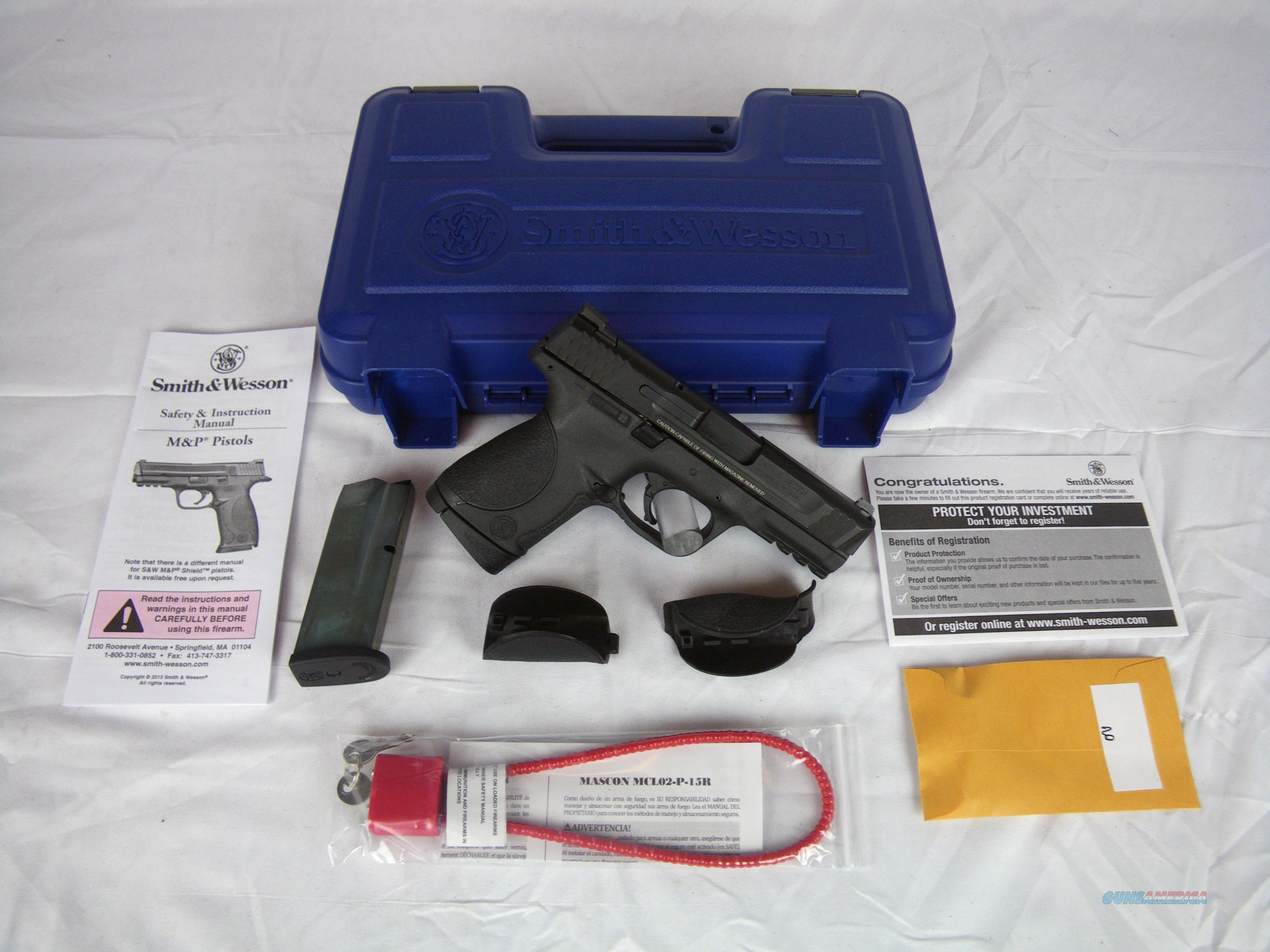 "Smith & Wesson M&P 45 ACP 4"" Compact NEW #109308  Guns > Pistols > Smith & Wesson Pistols - Autos > Polymer Frame"