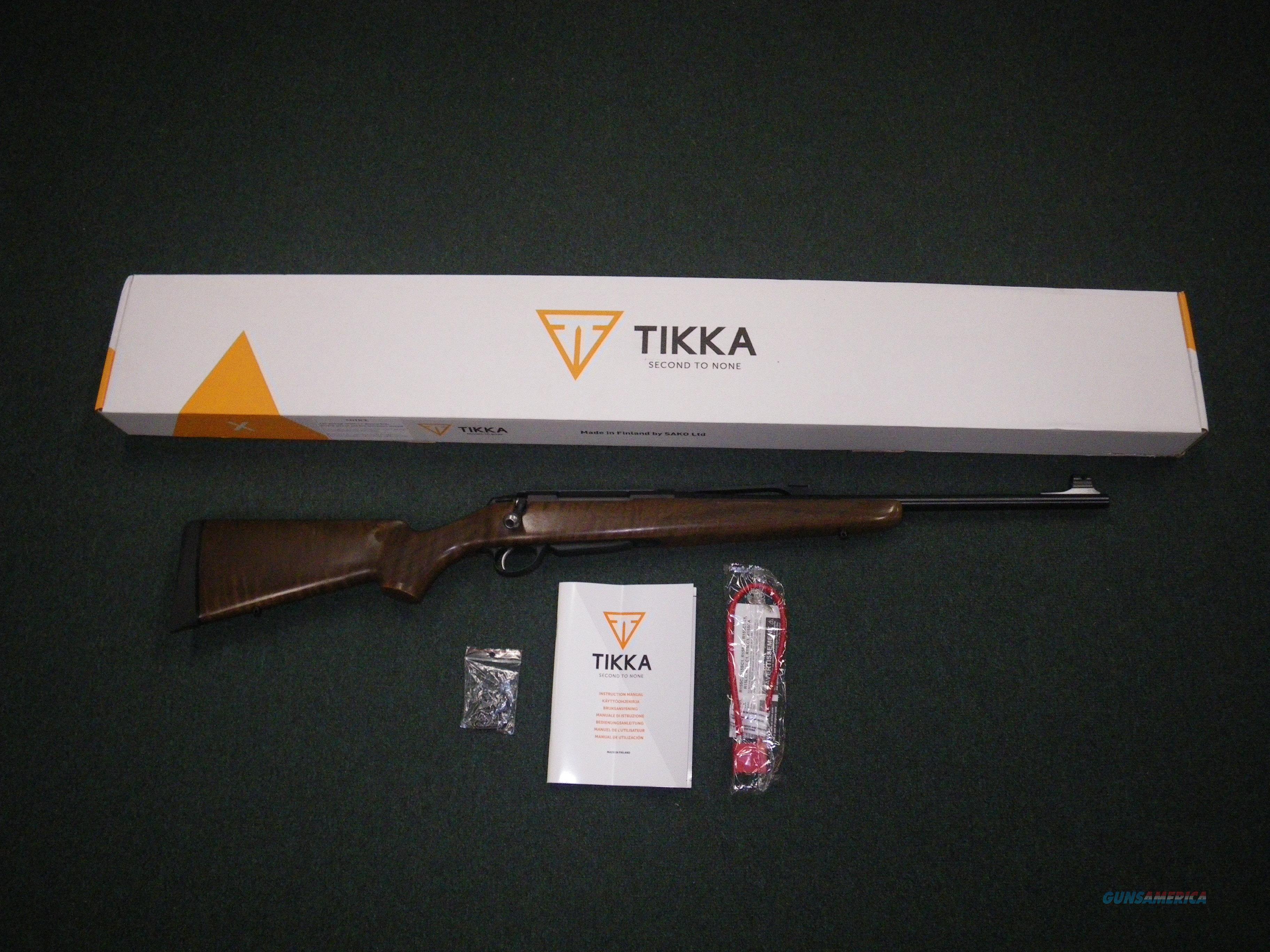 """Tikka T3x Battue Wood 30-06 Spfld 20"""" NEW JRTXB720  Guns > Rifles > Tikka Rifles > T3"""