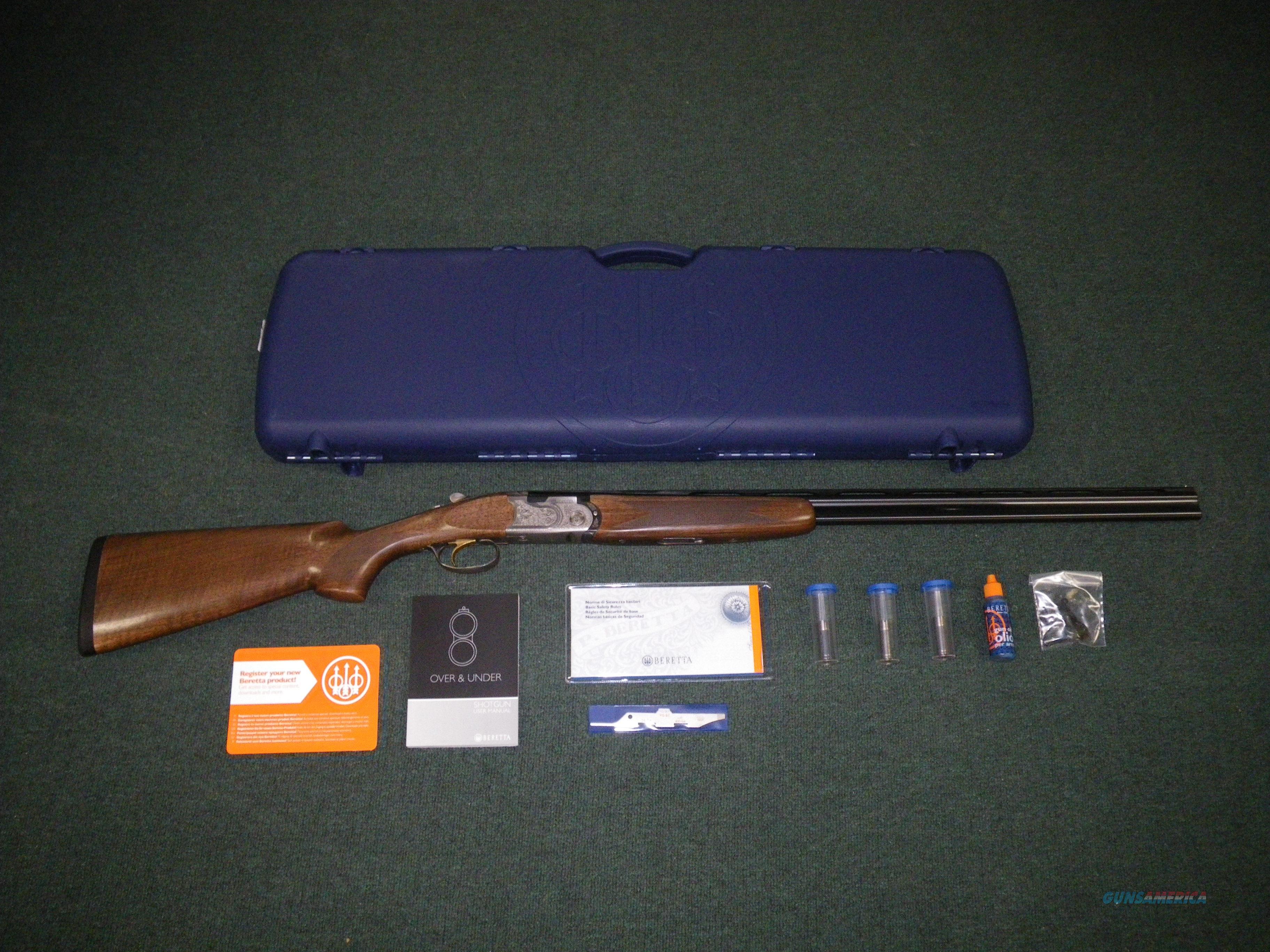 "Beretta 686 Silver Pigeon I 410 28"" 3"" Chamber NEW #J6863N8  Guns > Shotguns > Beretta Shotguns > O/U > Hunting"