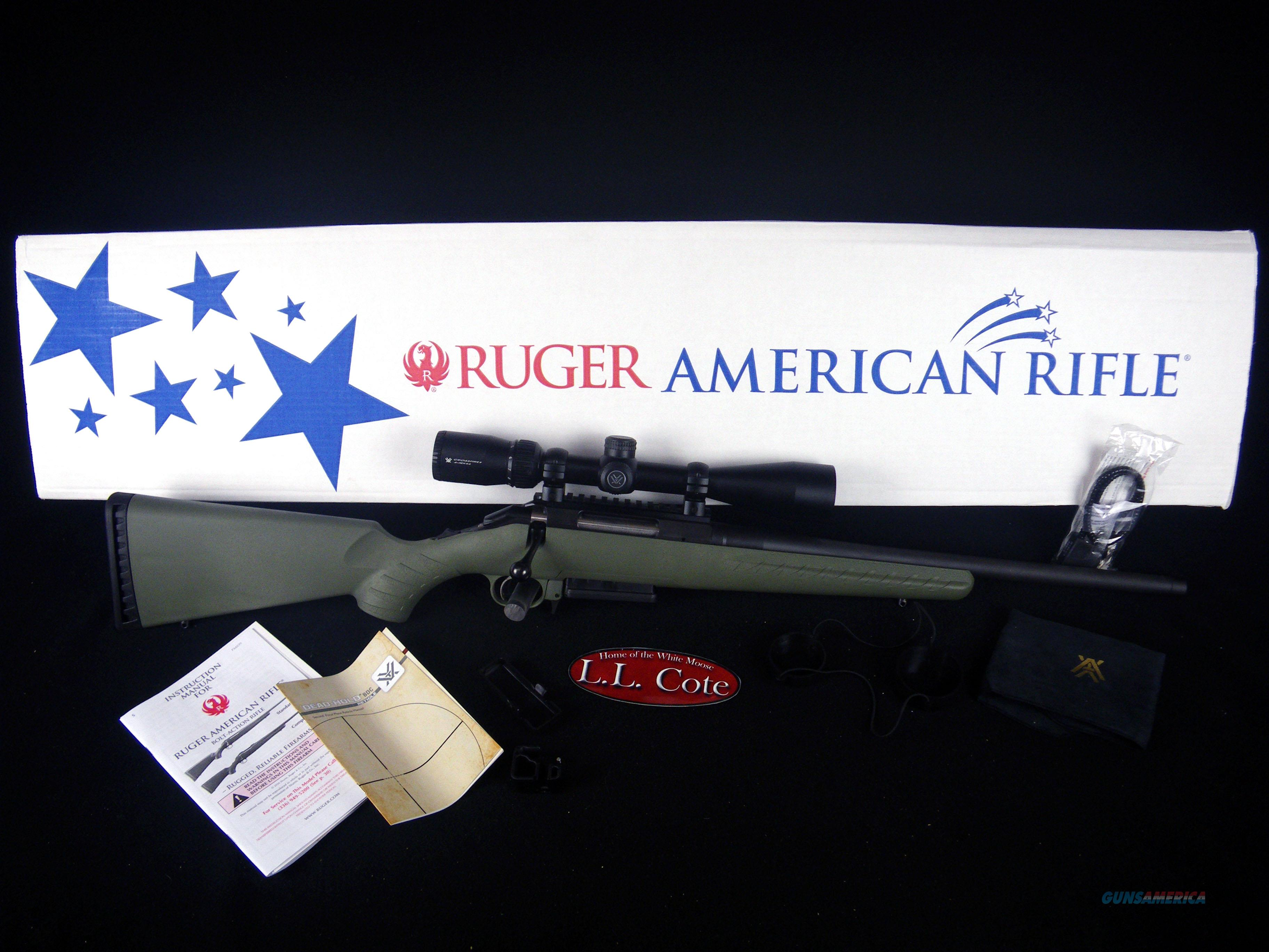 """Ruger American Rifle w/Vortex Scope 308 Win 18"""" NEW 26954  Guns > Rifles > Ruger Rifles > American Rifle"""