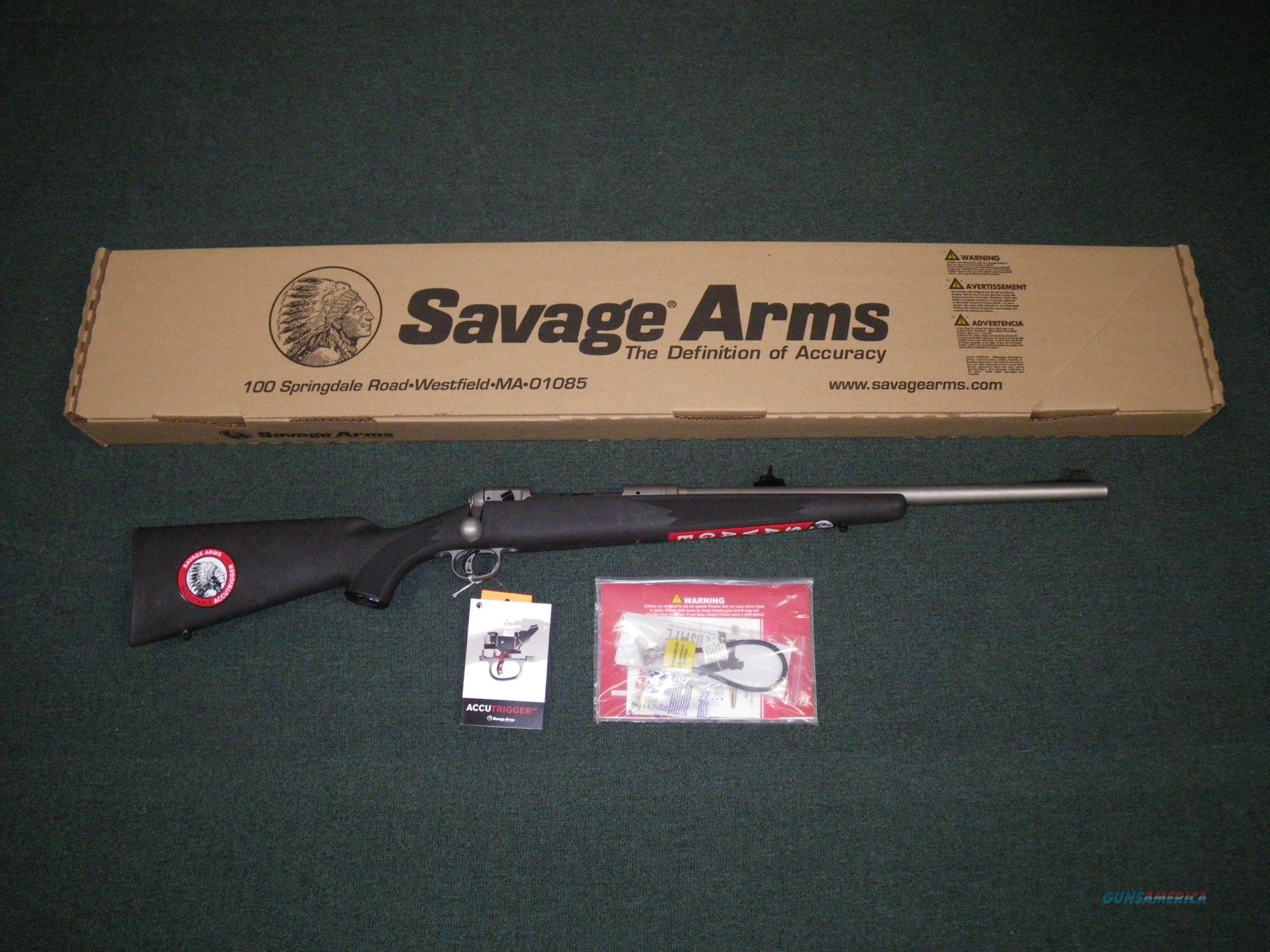 "Savage 116 Alaskan Brush Hunter 375 Ruger 20"" New #19665  Guns > Rifles > Savage Rifles > 16/116"