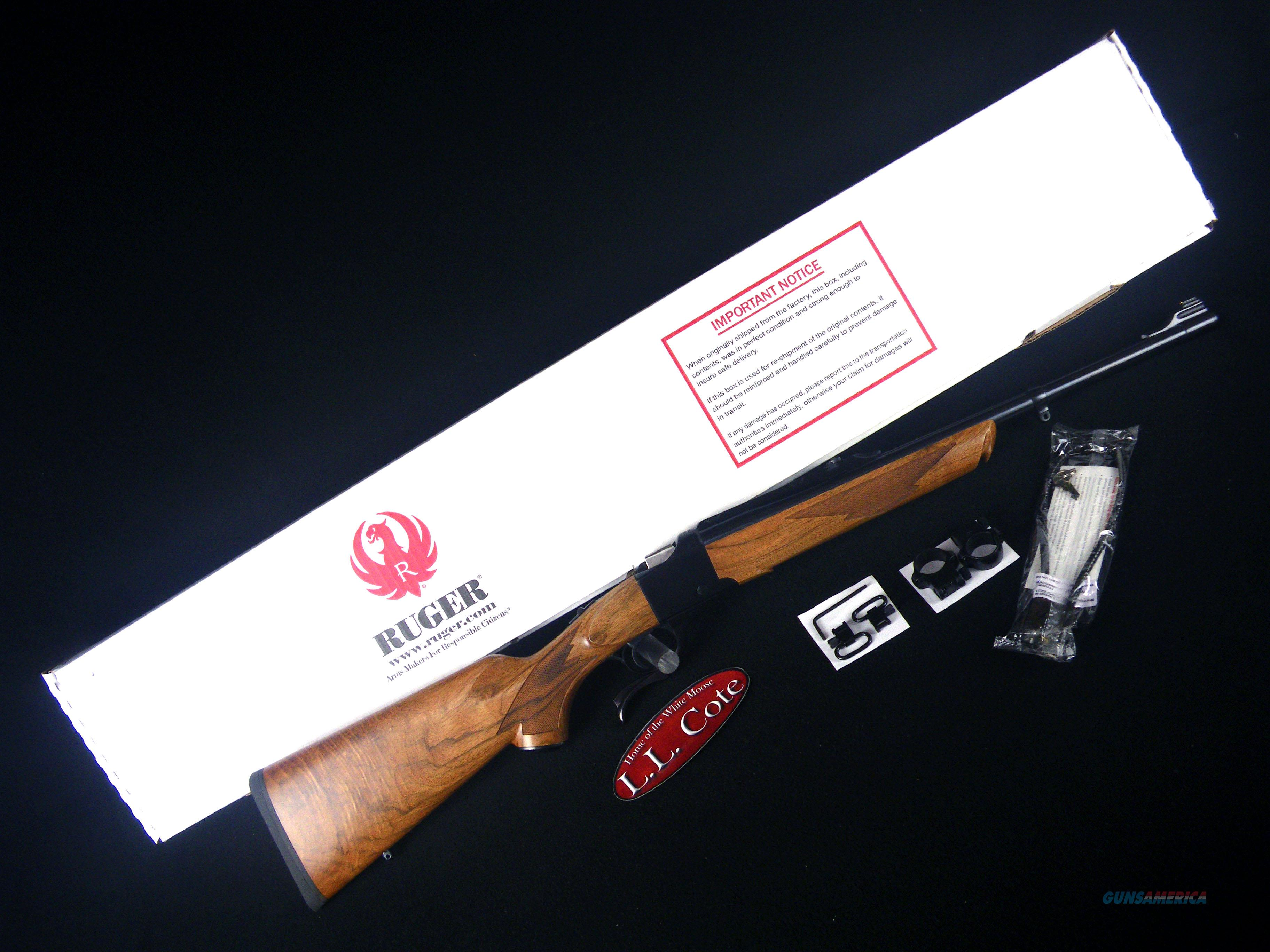"Ruger No.1 450 Marlin 20"" Wood NEW W/Sights 21313  Guns > Rifles > Ruger Rifles > #1 Type"