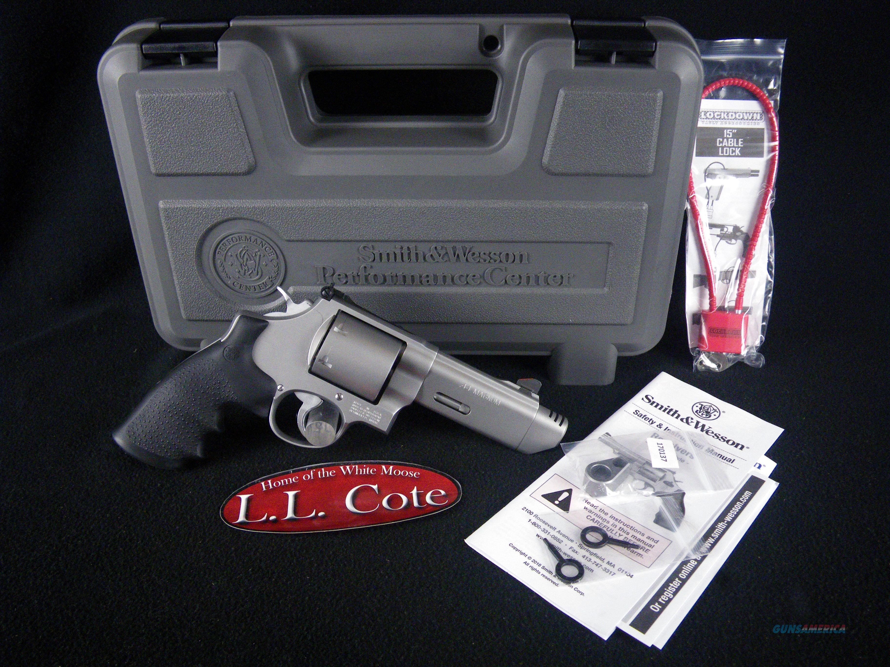 "Smith & Wesson Perf Cent Model 629 V-Comp 44mag 4"" NEW 170137  Guns > Pistols > Smith & Wesson Revolvers > Med. Frame ( K/L )"