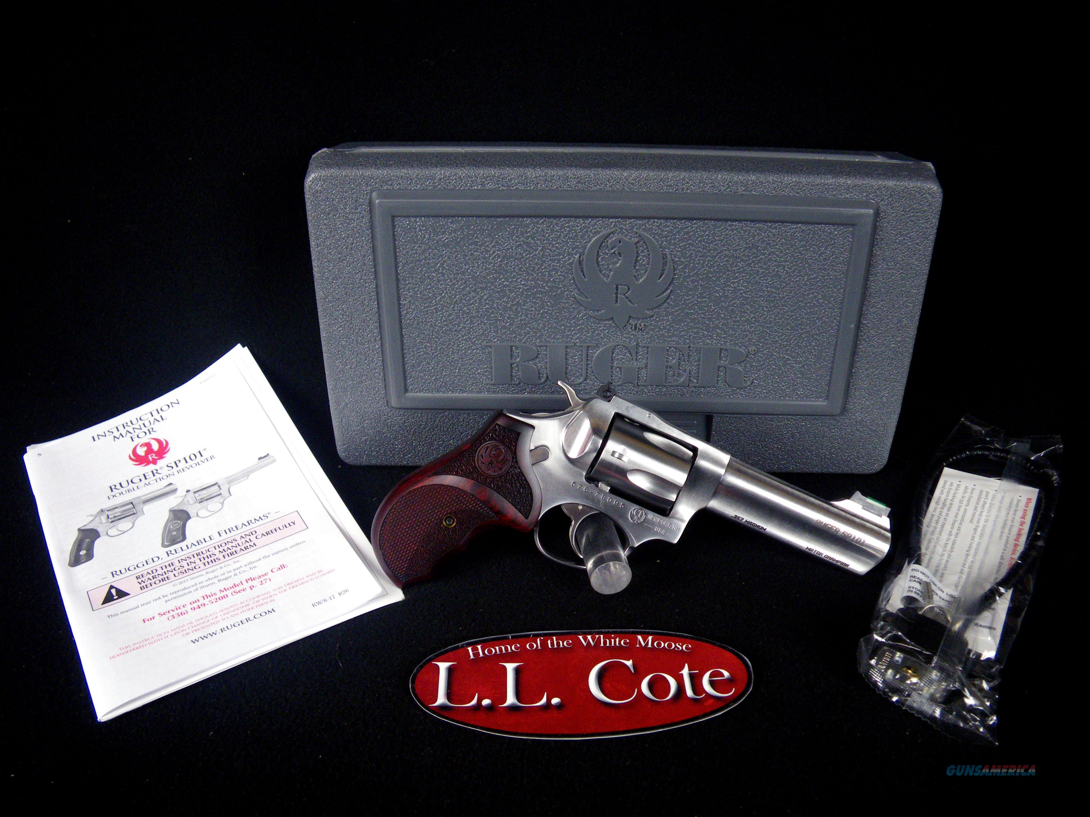 """Ruger SP101 Match Champion 357mag 4.2"""" NEW 5782  Guns > Pistols > Ruger Double Action Revolver > SP101 Type"""