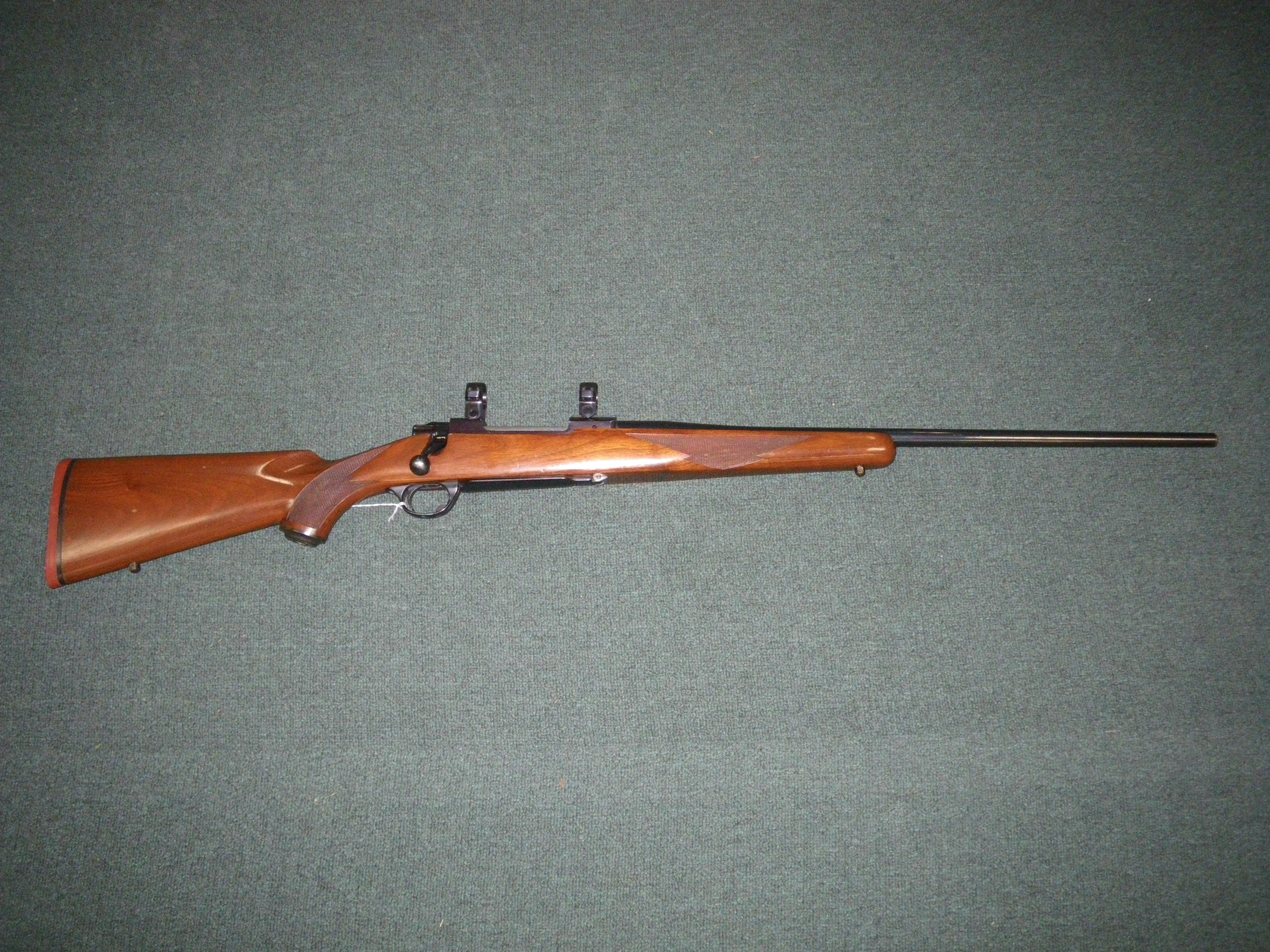 "Ruger M77 Tang Safety W/Rings 7mm Rem Mag 24"" Used #398053  Guns > Rifles > Ruger Rifles > Model 77"