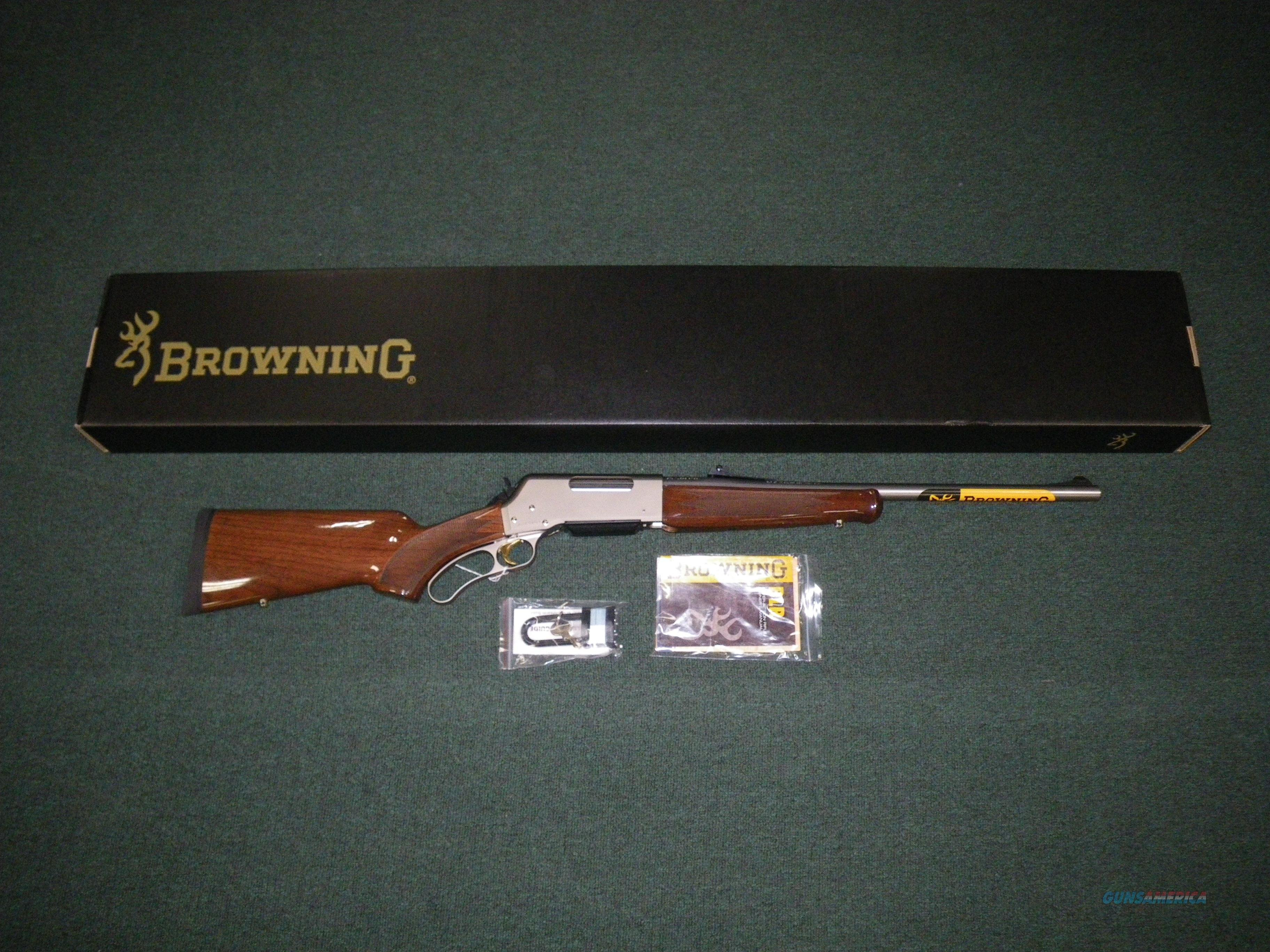 "Browning BLR Lightweight Pistol Grip 7mm Rem Mag 24"" #034018127  Guns > Rifles > Browning Rifles > Lever Action"