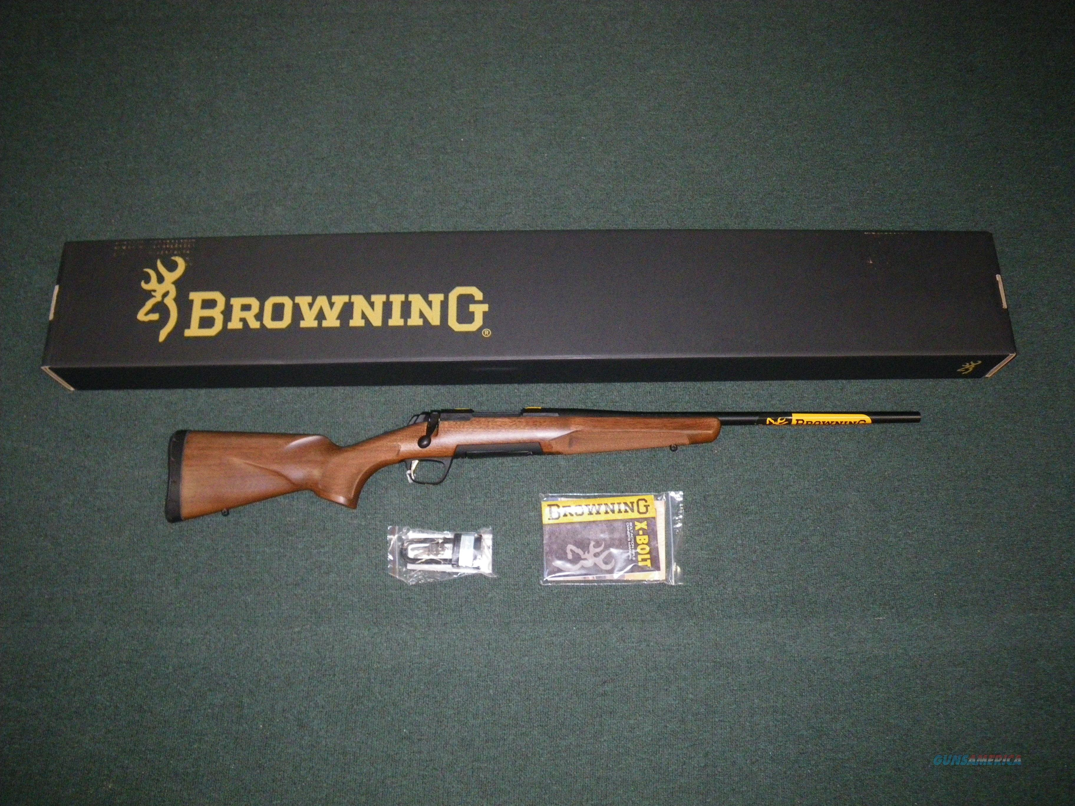 "Browning X-Bolt Hunter Micro Midas 7mm-08 20"" NIB #035248216  Guns > Rifles > Browning Rifles > Bolt Action > Hunting > Blue"