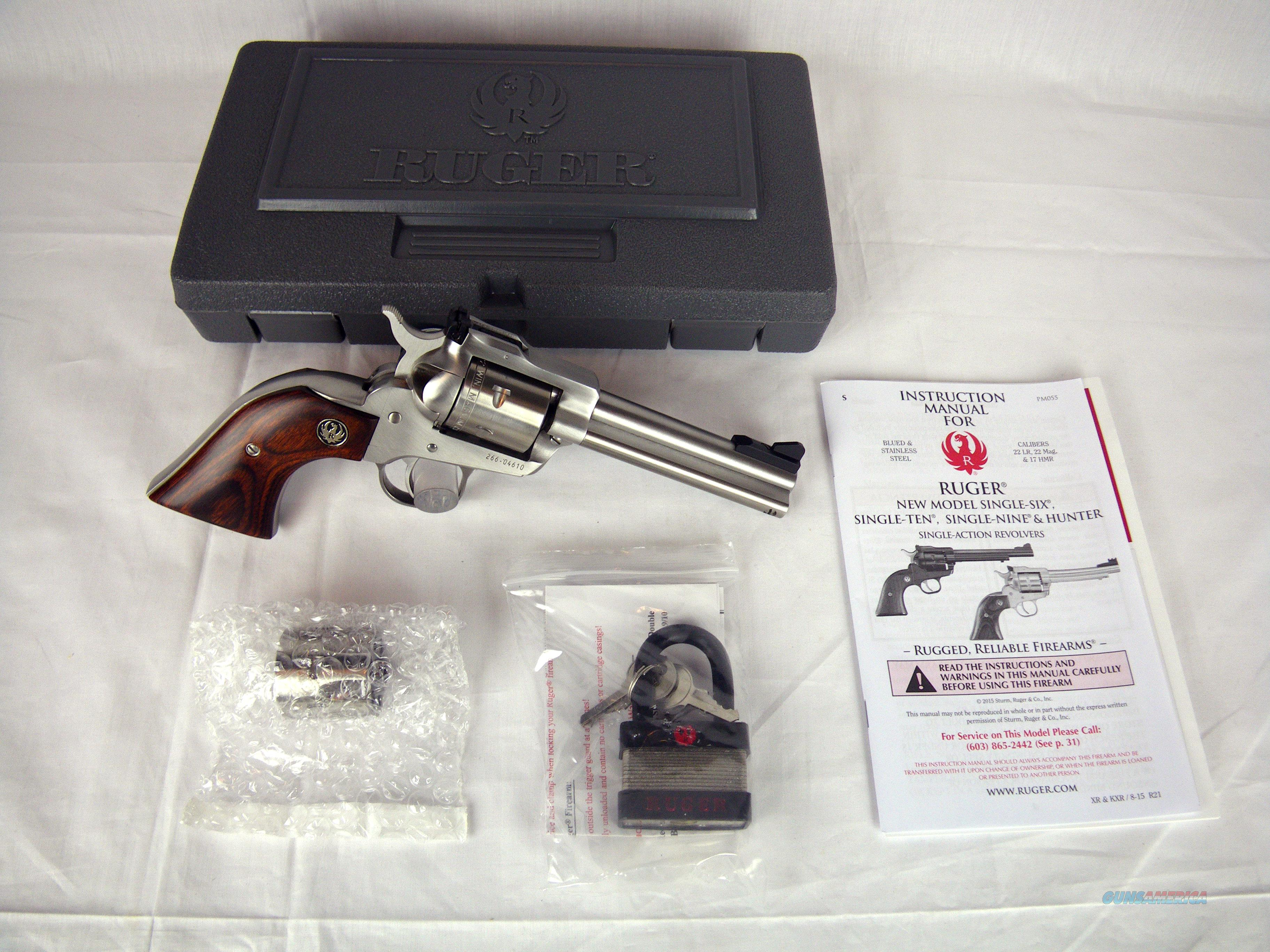 "Ruger Single-Six Convertible 22lr/22mag 4.62"" NEW #0627  Guns > Pistols > Ruger Single Action Revolvers > Single Six Type"