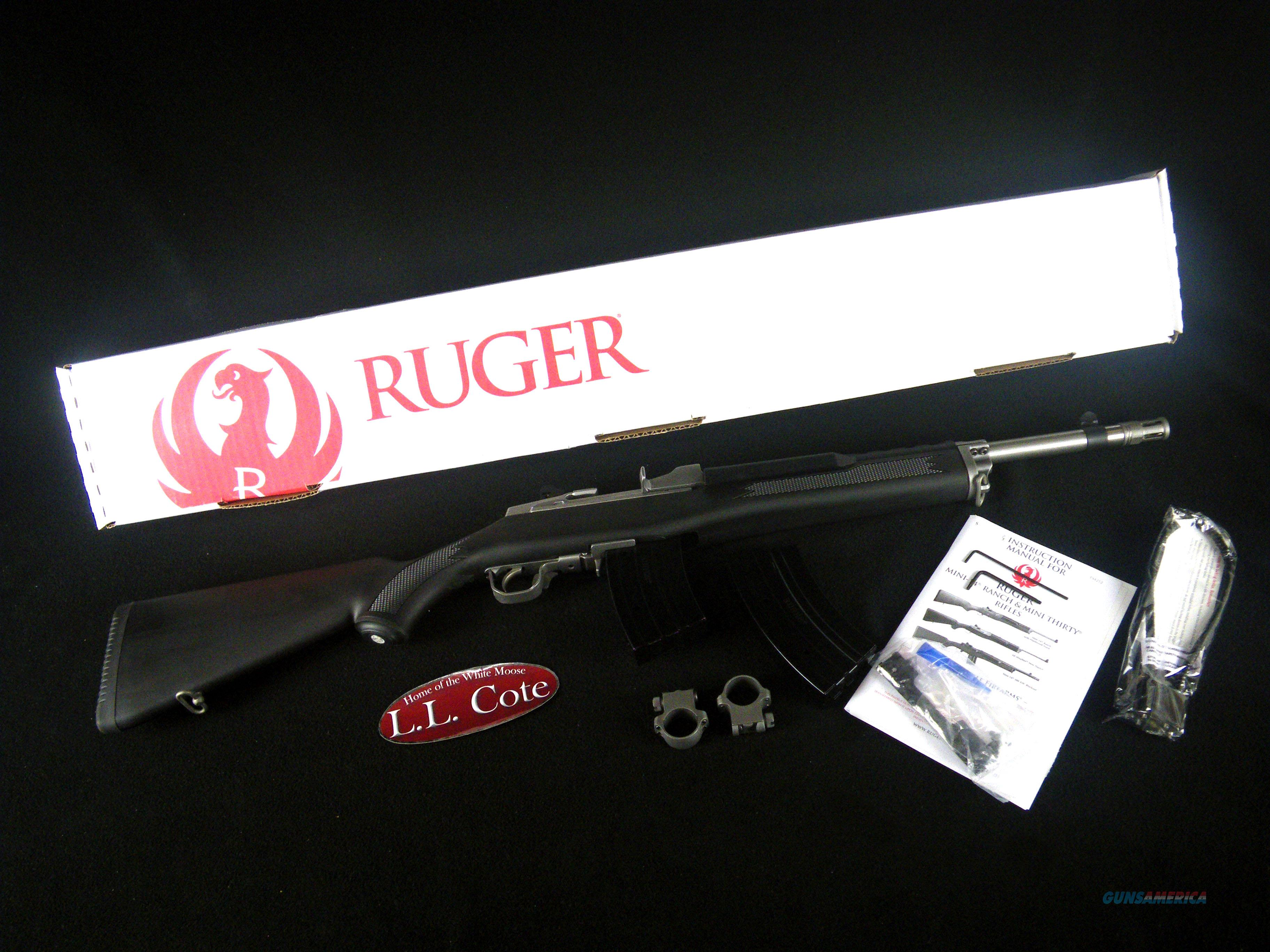 """Ruger Mini Thirty Stainless 7.62x39 16.1"""" NEW 5868  Guns > Rifles > Ruger Rifles > Mini-14 Type"""