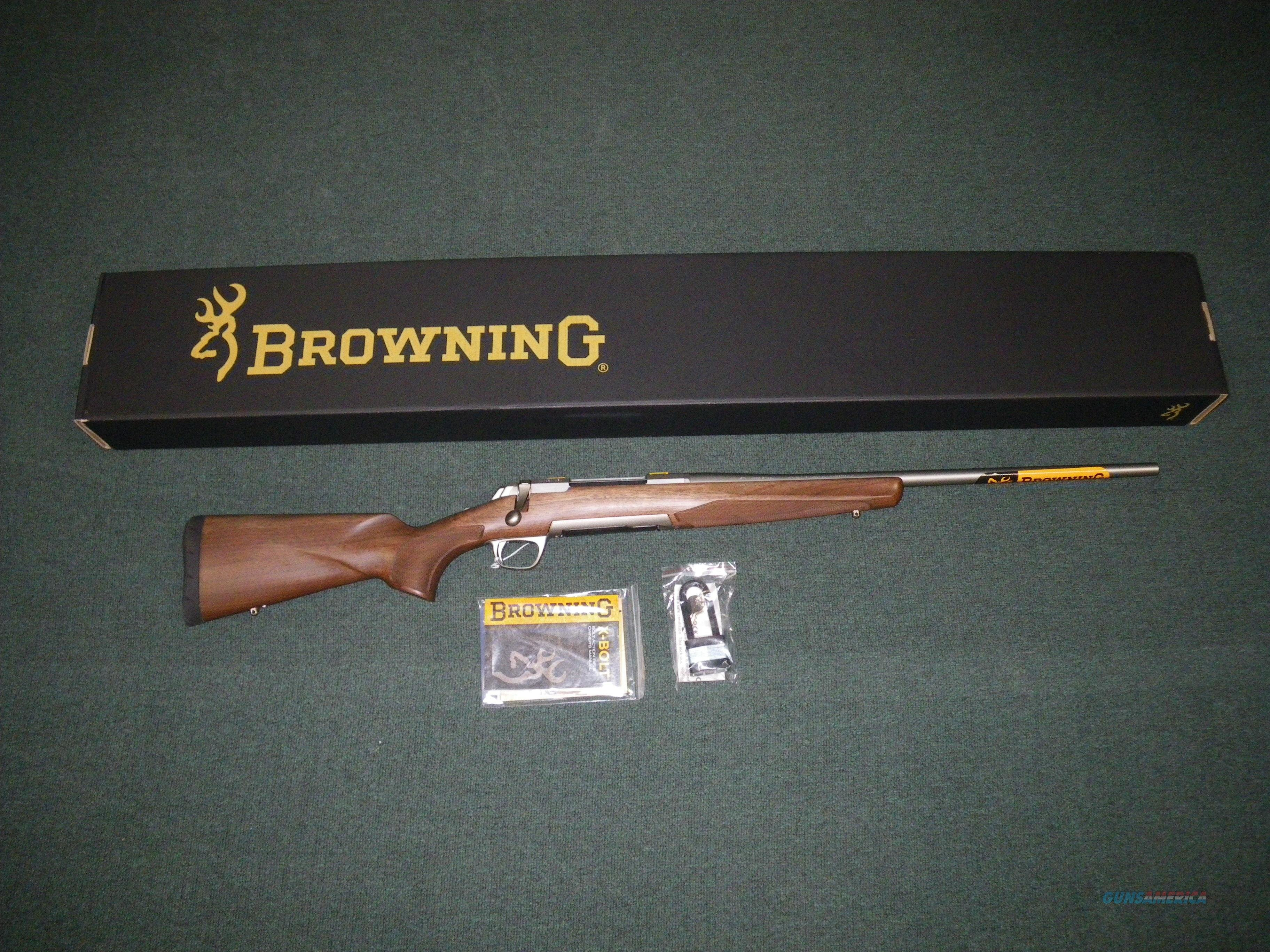 "Browning X-Bolt Stainless Hunter 300 WSM 23"" NIB #035233246  Guns > Rifles > Browning Rifles > Bolt Action > Hunting > Stainless"
