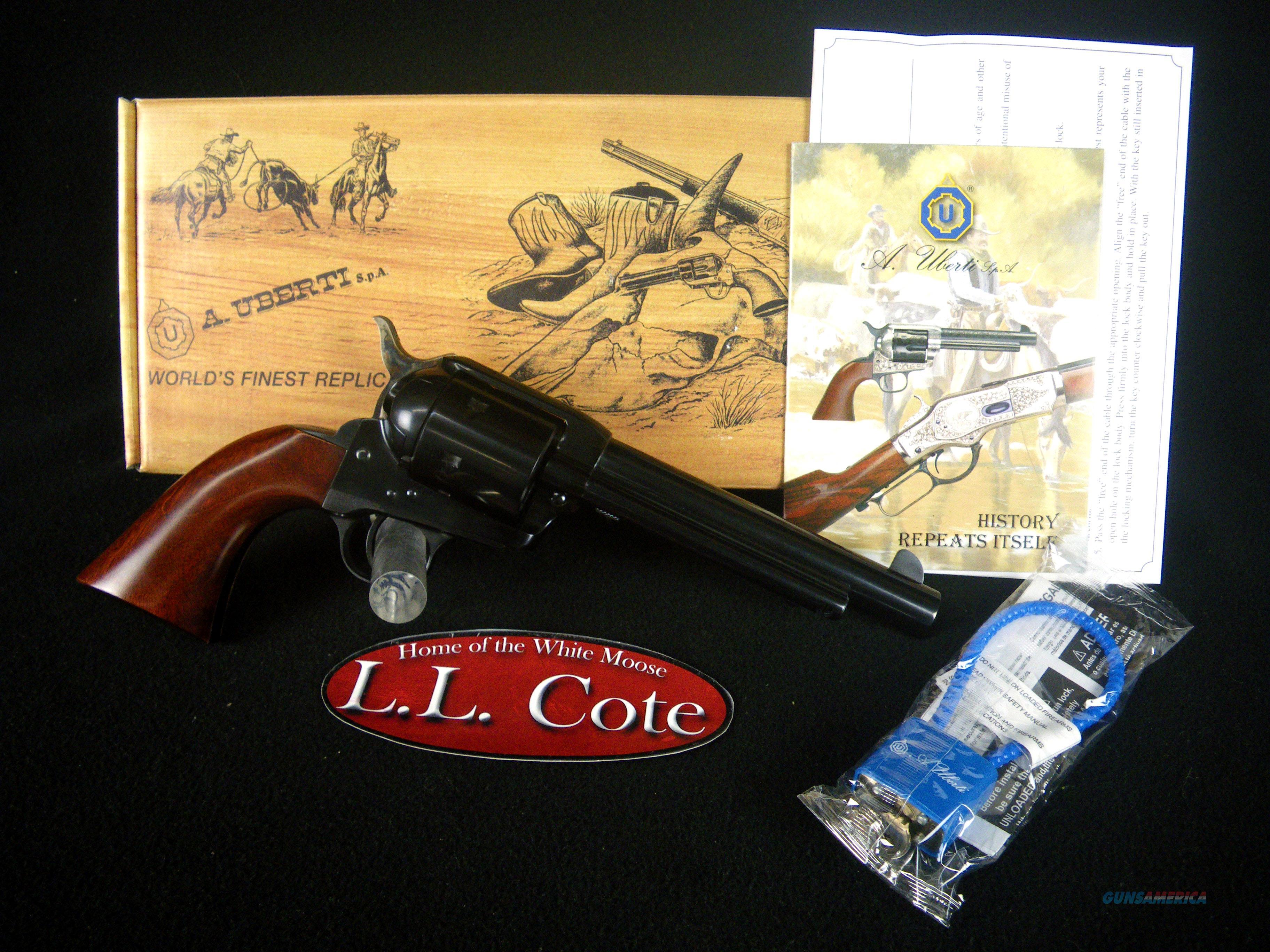 "Uberti 1873 Cattleman Callahan 44mag 6.5"" NEW 349321  Guns > Pistols > Uberti Pistols > Ctg."