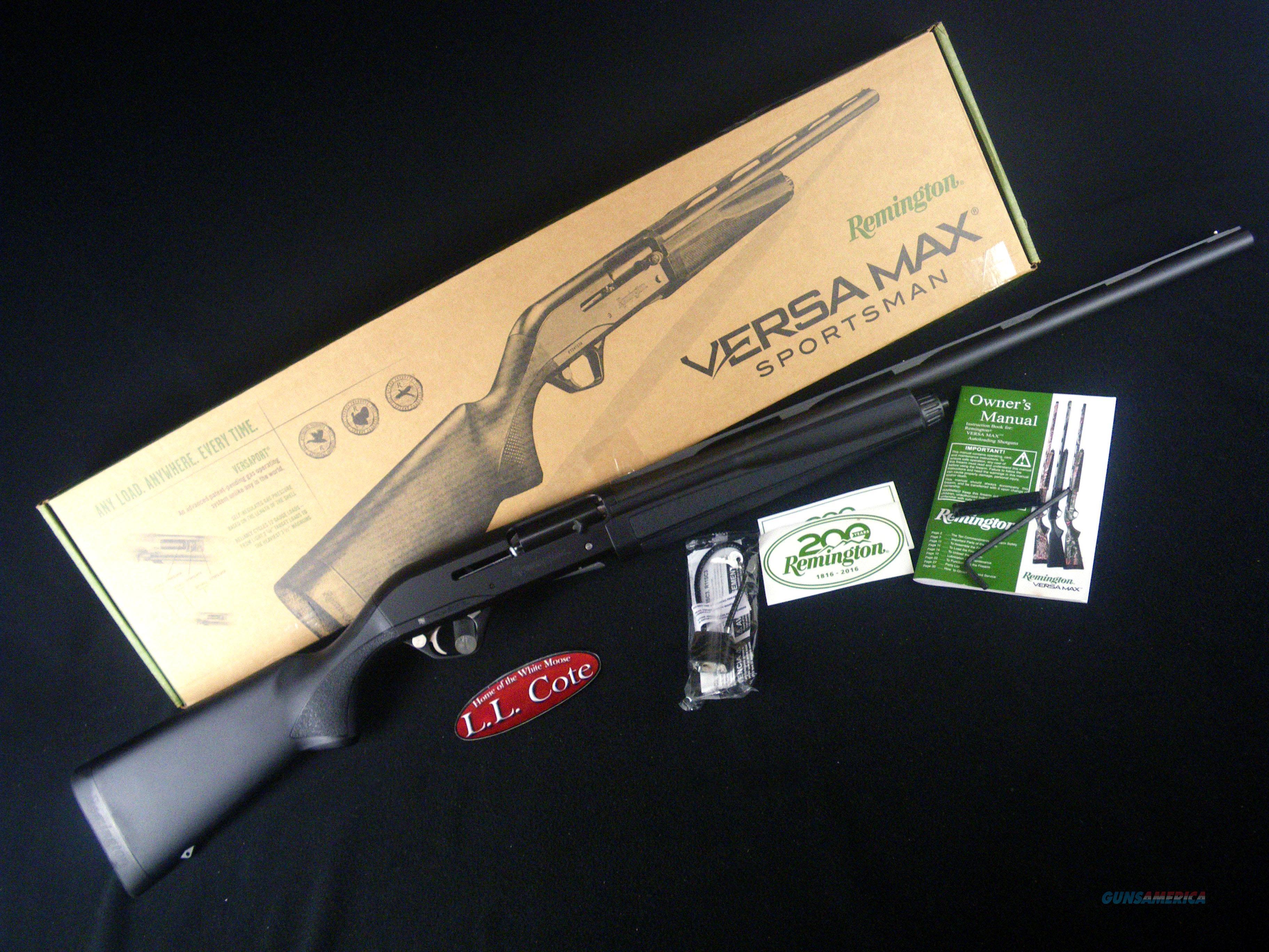 """Remington Versa Max Sportsman 12ga 26"""" NEW 3.5"""" 81046  Guns > Shotguns > Remington Shotguns  > Autoloaders > Hunting"""