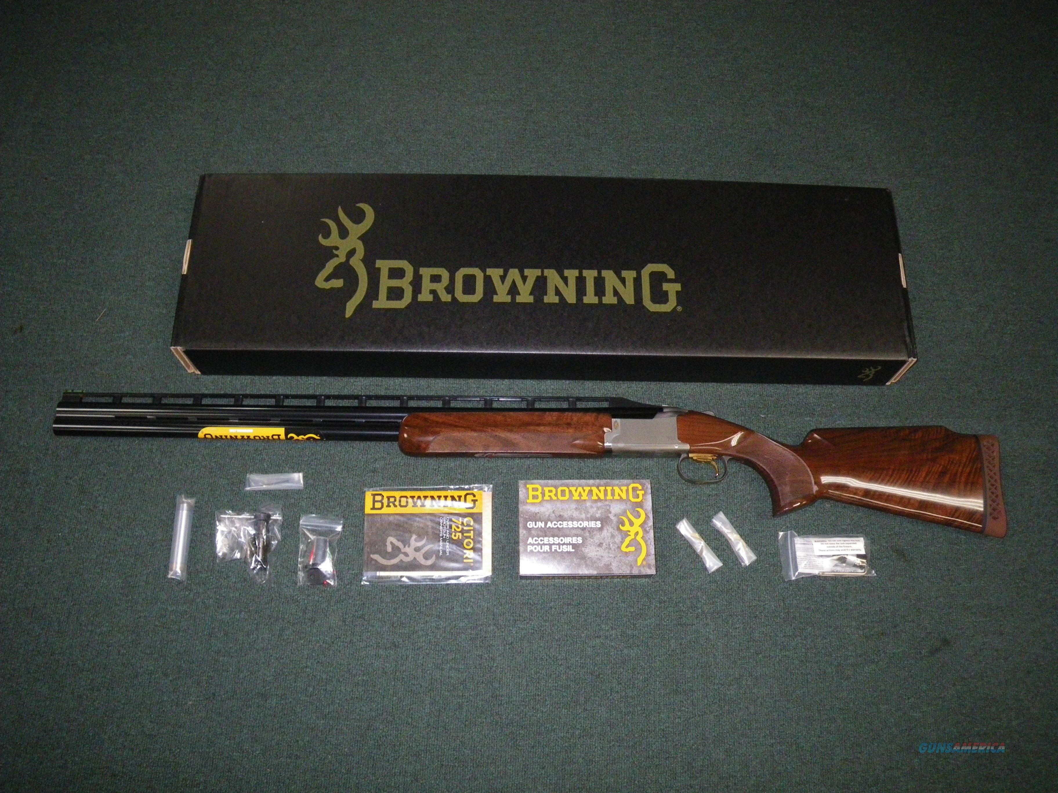 "Browning Citori 725 Trap Left Hand 12ga 30"" NEW #0135813010  Guns > Shotguns > Browning Shotguns > Over Unders > Citori > Trap/Skeet"