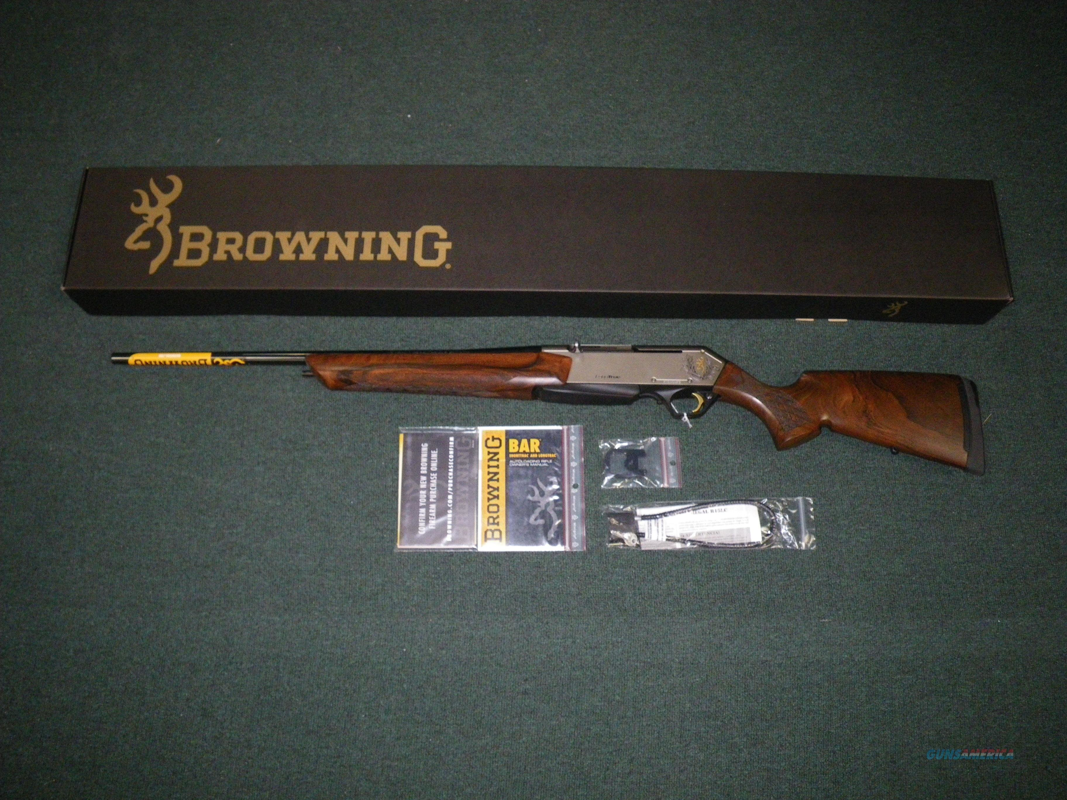 "Browning LongTrac Oil Finish 300 Win Mag 24"" Left Hand Item #031537229  Guns > Rifles > Browning Rifles > Semi Auto > Hunting"