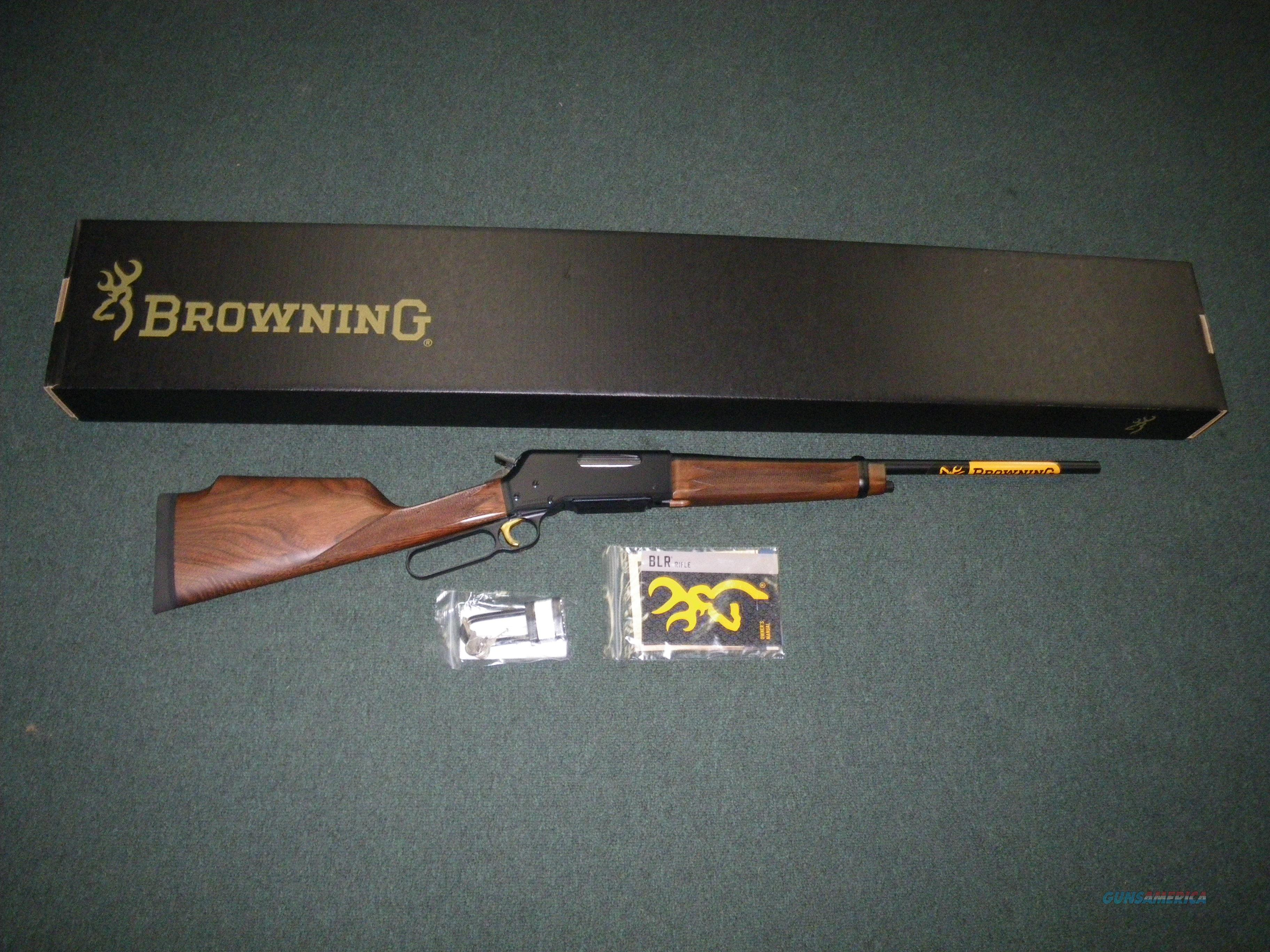 "Browning BLR Lt Weight Monte Carlo 300 WSM 22"" NEW #034030246  Guns > Rifles > Browning Rifles > Lever Action"