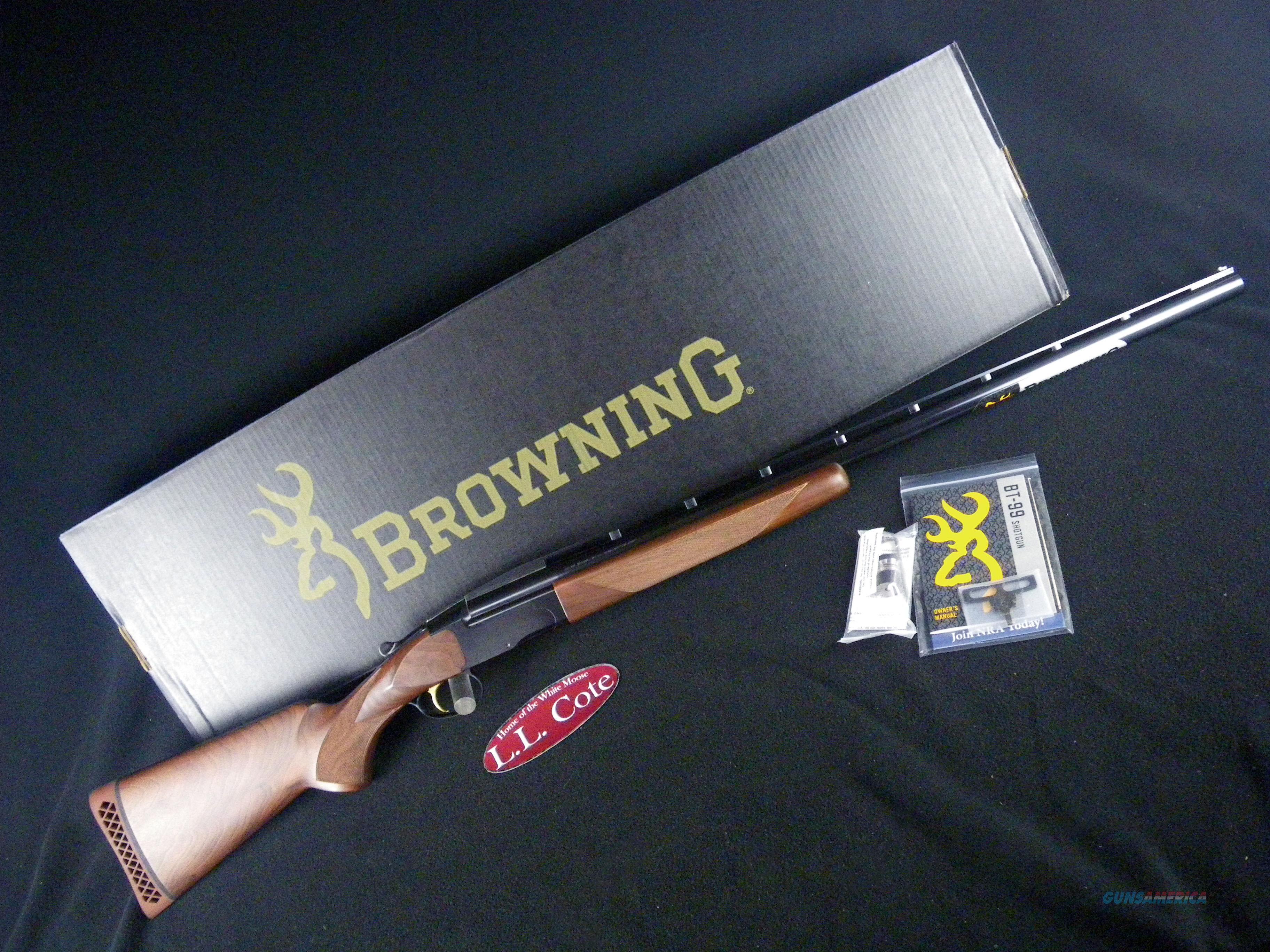 "Browning BT-99 Micro Midas Wood 12ga 30"" NEW 2.75"" 017075403  Guns > Shotguns > Browning Shotguns > Single Barrel"