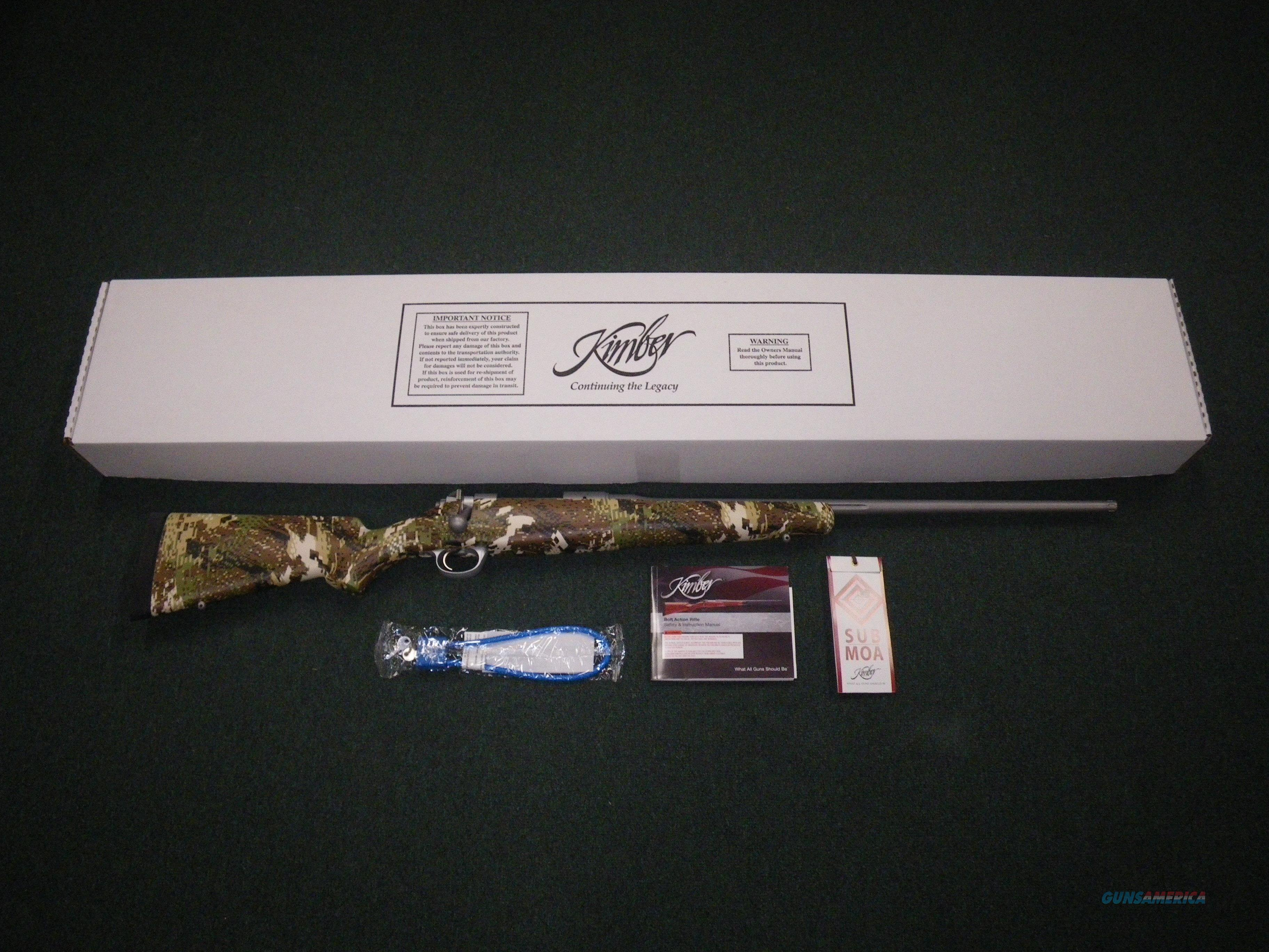 "Kimber 8400 Subalpine 300WSM 24"" NEW 3000823  Guns > Rifles > Kimber of America Rifles"