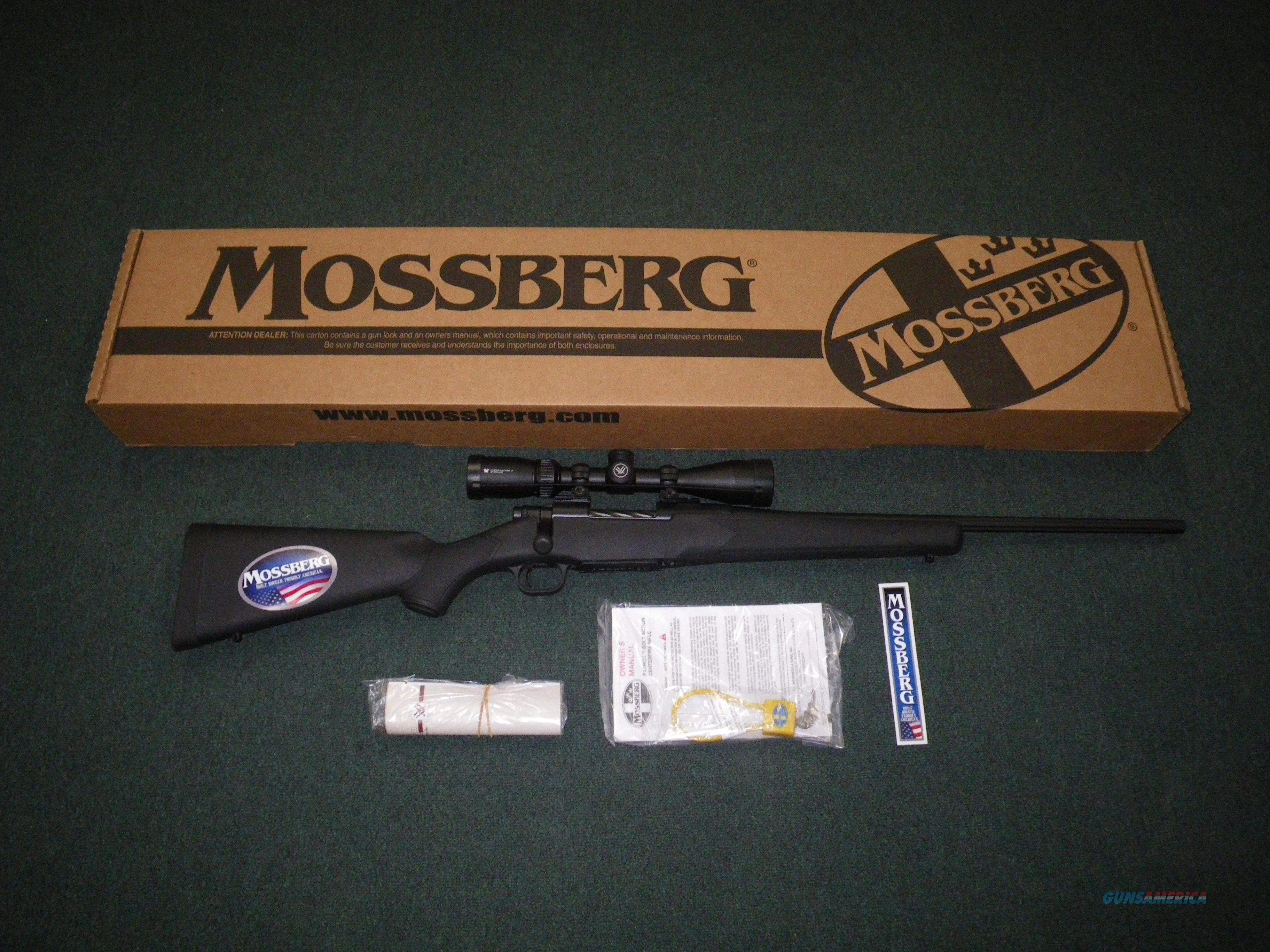 "Mossberg Patriot Synthetic Scoped 308 Win 22"" NEW #27933  Guns > Rifles > Mossberg Rifles > Patriot"