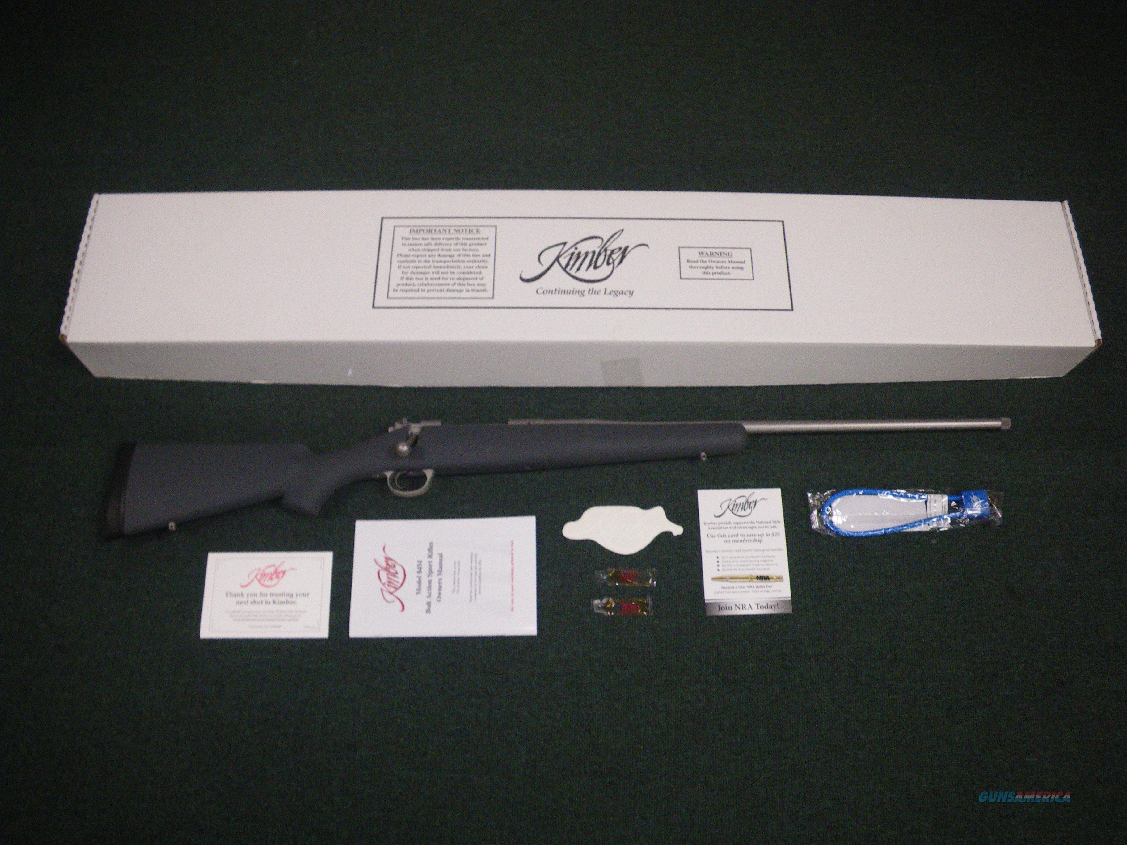 "Kimber Montana 280 Ackley 24"" Threaded NEW 3000814  Guns > Rifles > Kimber of America Rifles"