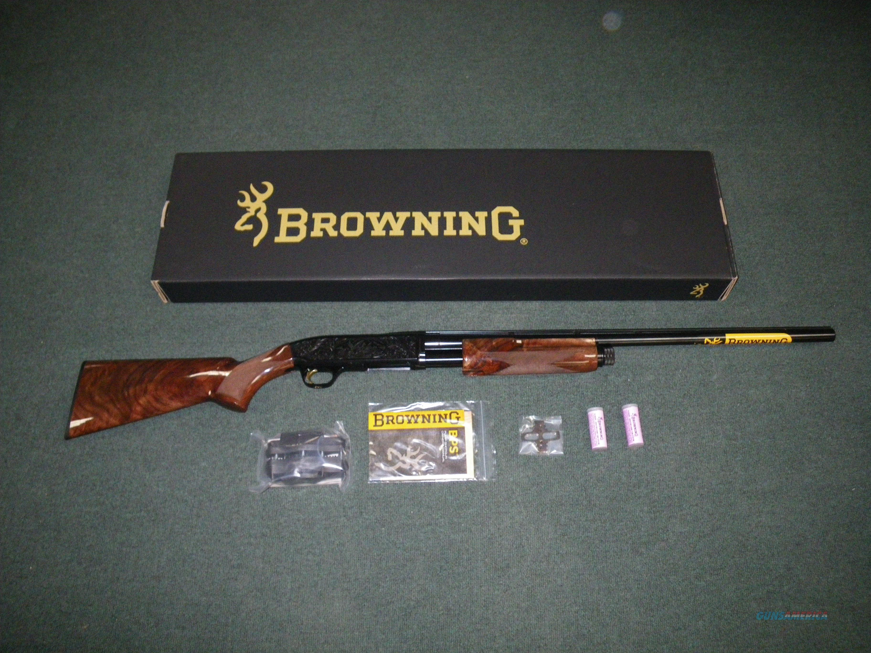 "Browning BPS Medallion 12ga 28"" 3"" Chamber NEW #012275304  Guns > Shotguns > Browning Shotguns > Pump Action > Hunting"