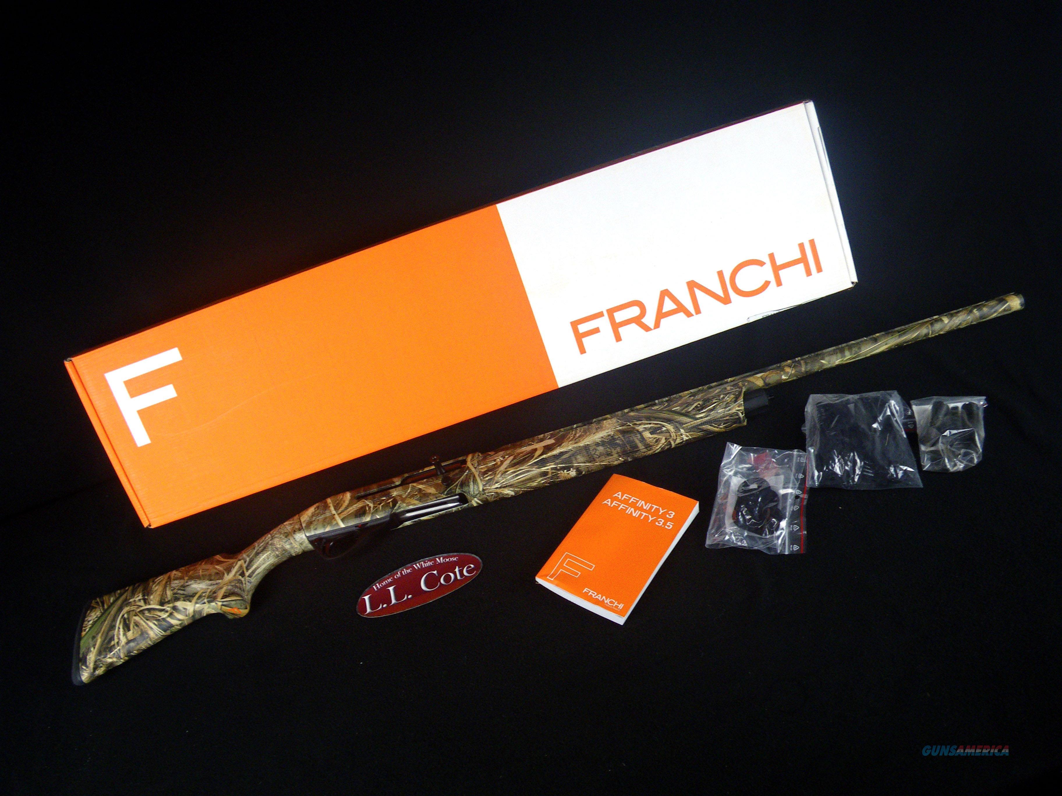 "Franchi Affinity 3 Compact Max-5 20ga 26"" NEW 3"" 41090  Guns > Shotguns > Franchi Shotguns > Auto Pump > Hunting"