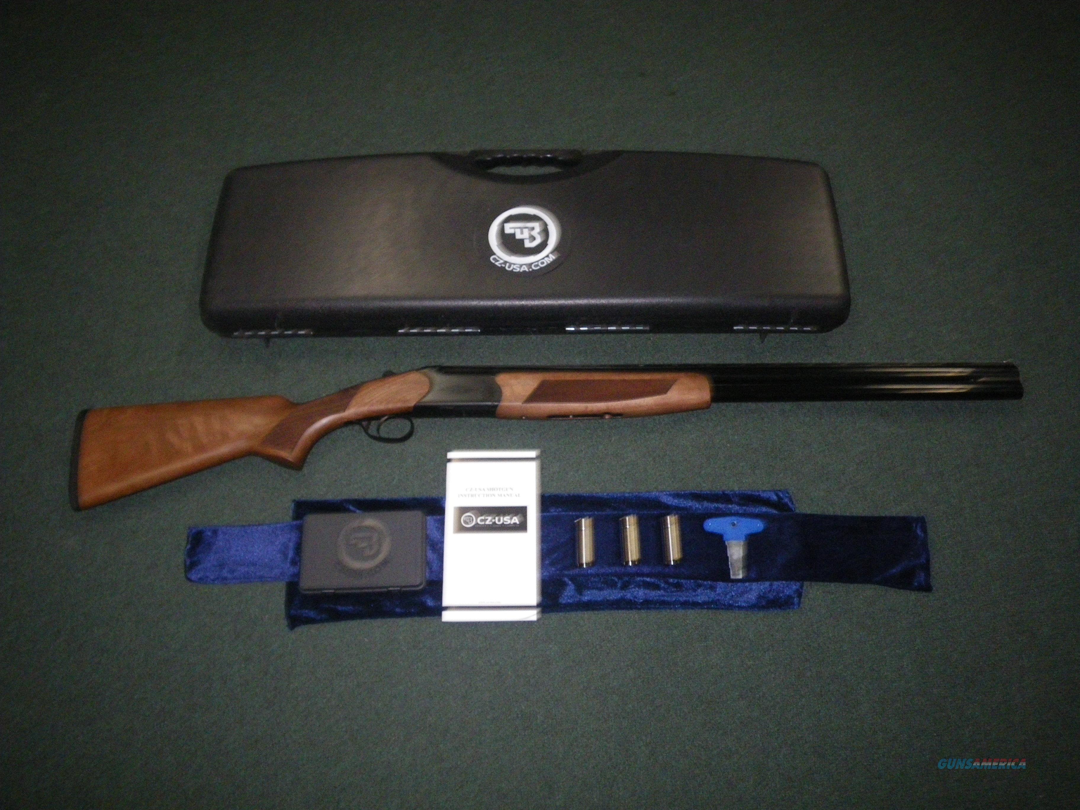 "CZ Drake Walnut/Blued 28ga 28"" NEW 2-3/4"" 06488  Guns > Shotguns > CZ Shotguns"
