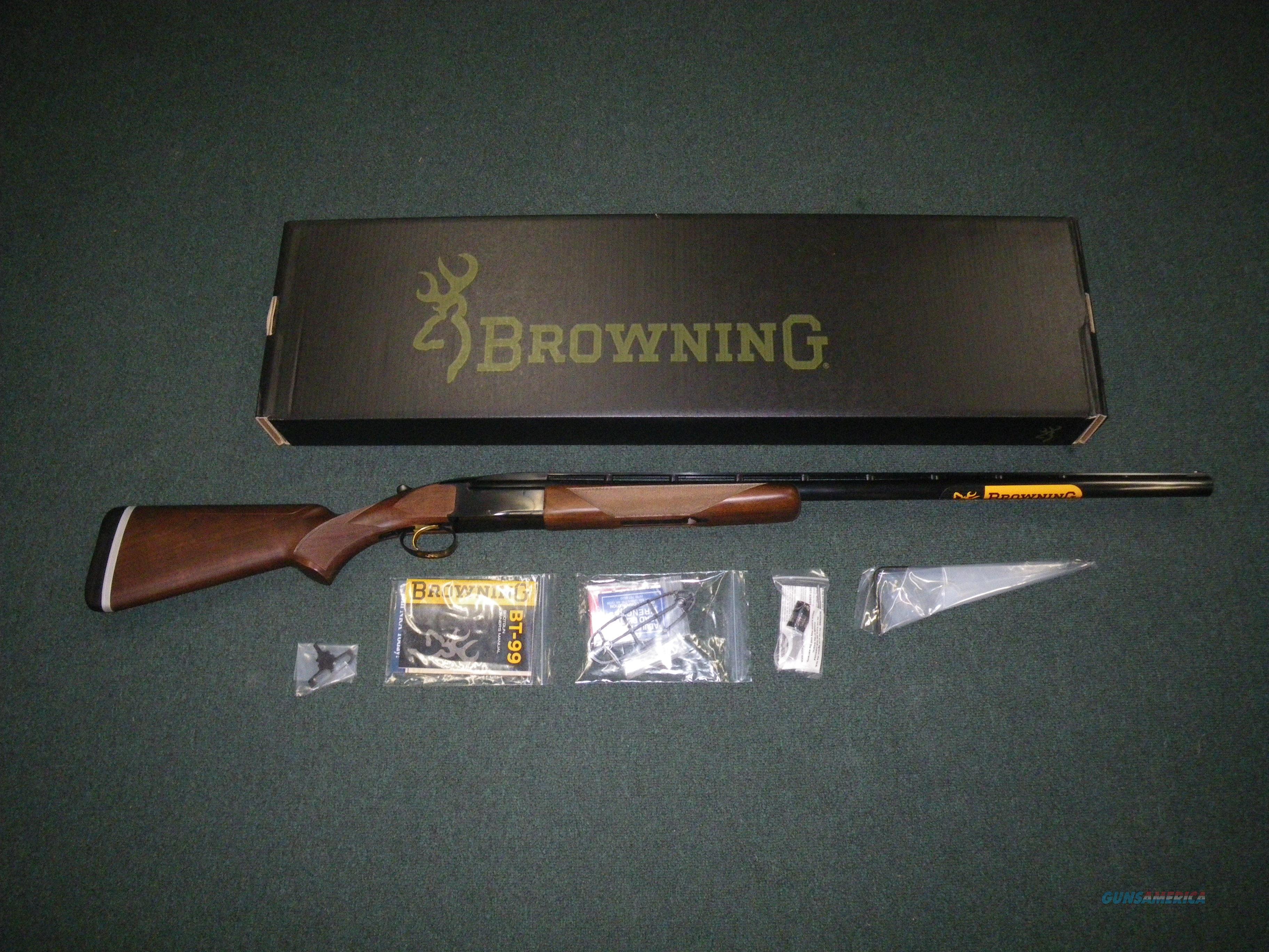 "Browning BT-99 Adjustable Comb 12ga 34"" 2-3/4"" NEW #017081401  Guns > Shotguns > Browning Shotguns > Single Barrel"