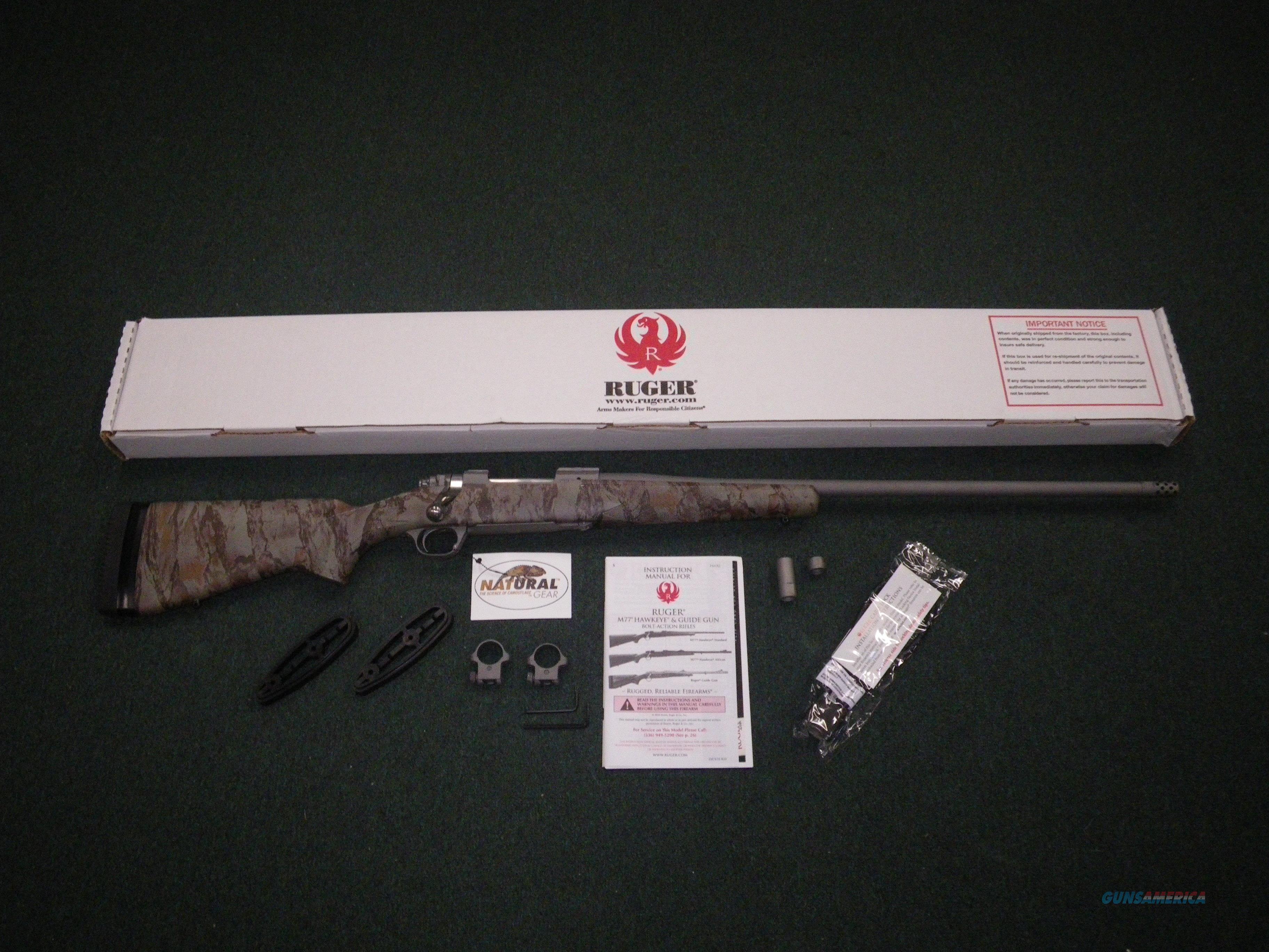 "Ruger Hawkeye FTW Hunter Rifle 6.5 Creed 24"" NEW #47170  Guns > Rifles > Ruger Rifles > Model 77"