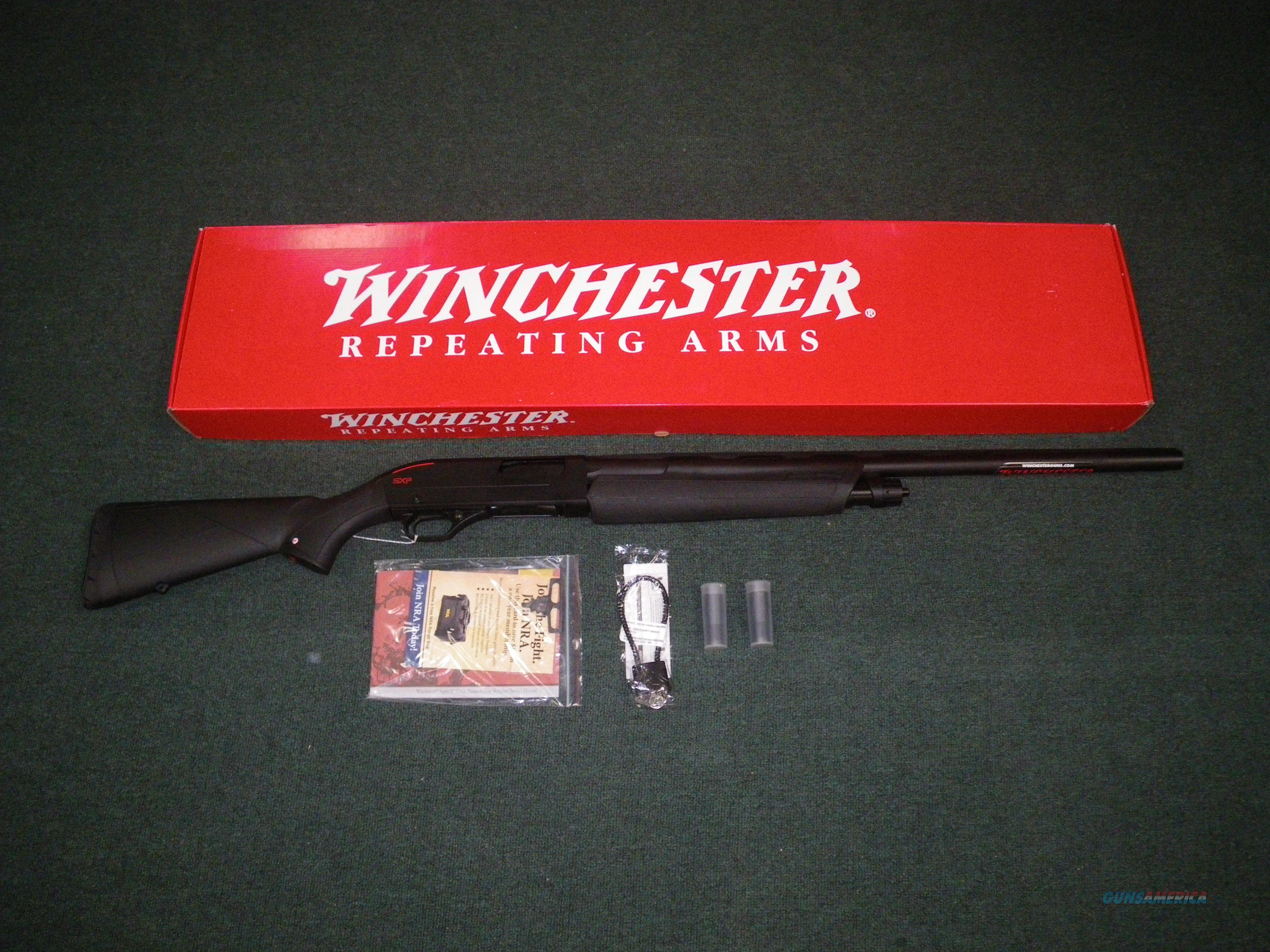 "Winchester SXP Camp/Field Combo 12ga 28""/18""NEW 3"" #512257392  Guns > Shotguns > Winchester Shotguns - Modern > Pump Action > Hunting"