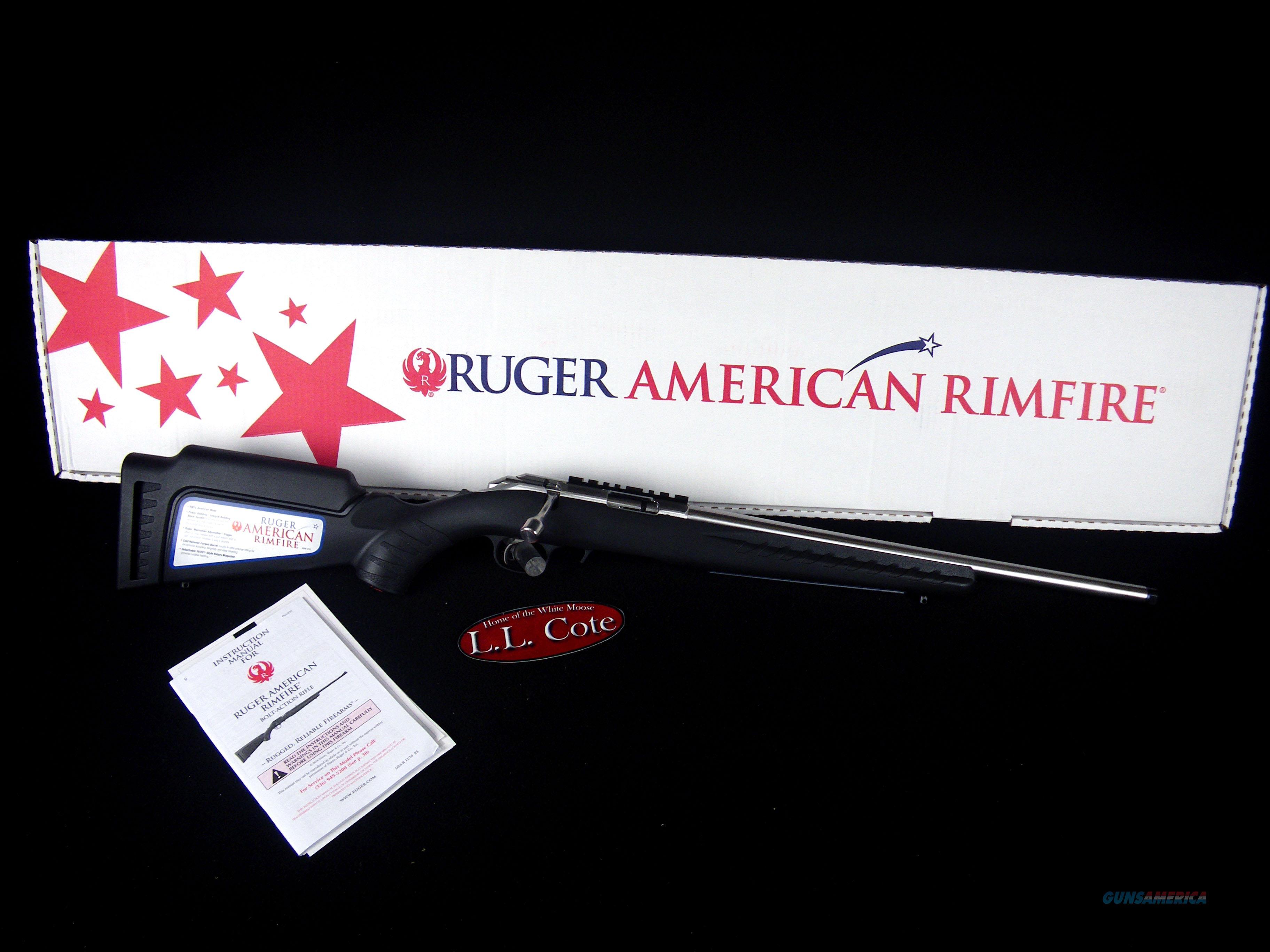 """Ruger American Rimfire 22wmr 18"""" SS NEW 8352  Guns > Rifles > Ruger Rifles > American Rifle"""