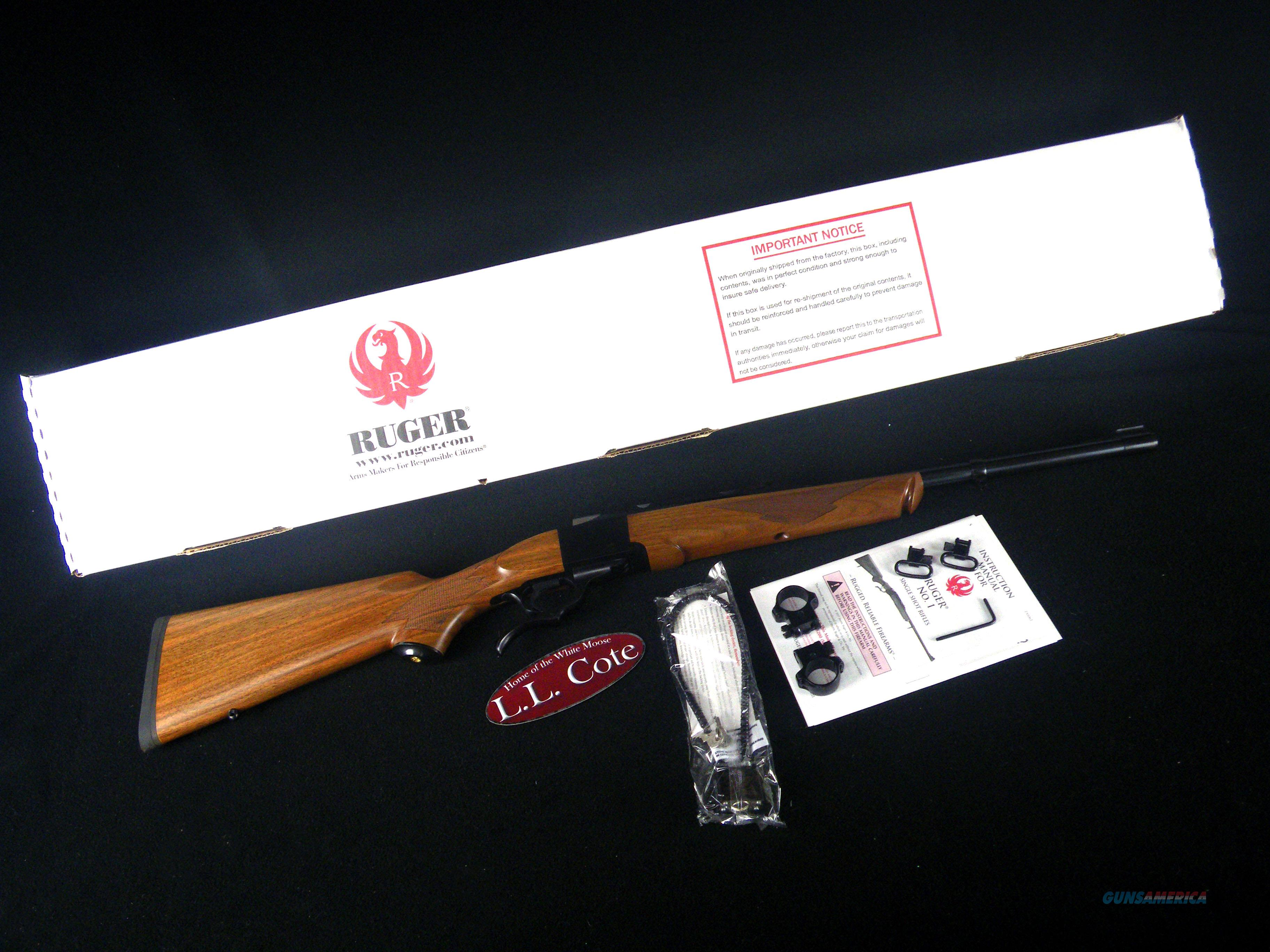 """Ruger No. 1 Wood/Blue 44 Rem Mag 20"""" NEW 21301  Guns > Rifles > Ruger Rifles > #1 Type"""