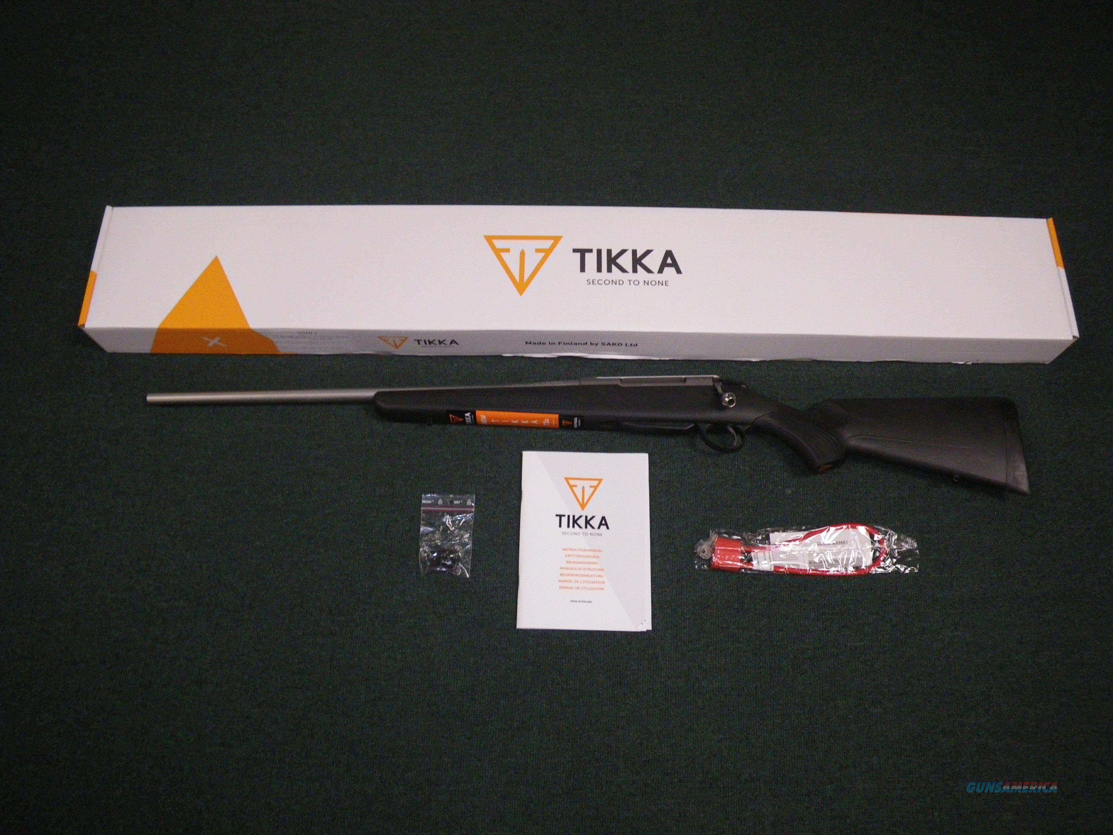 "Tikka T3x Lite LH Stainless/Synthetic 308 Win 22.4"" NEW #JRTXB416  Guns > Rifles > Tikka Rifles > T3"