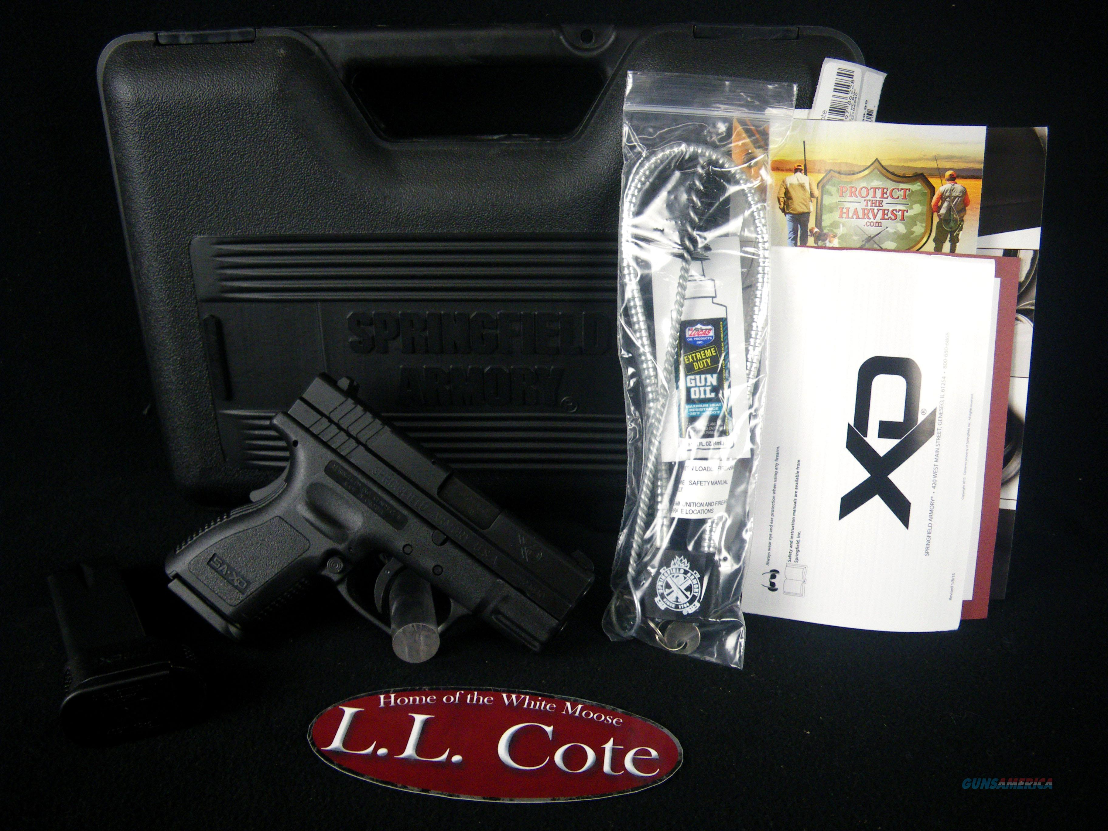 "Springfield XD Sub-Compact 40S&W 3"" NEW XD9802HC  Guns > Pistols > Springfield Armory Pistols > XD (eXtreme Duty)"