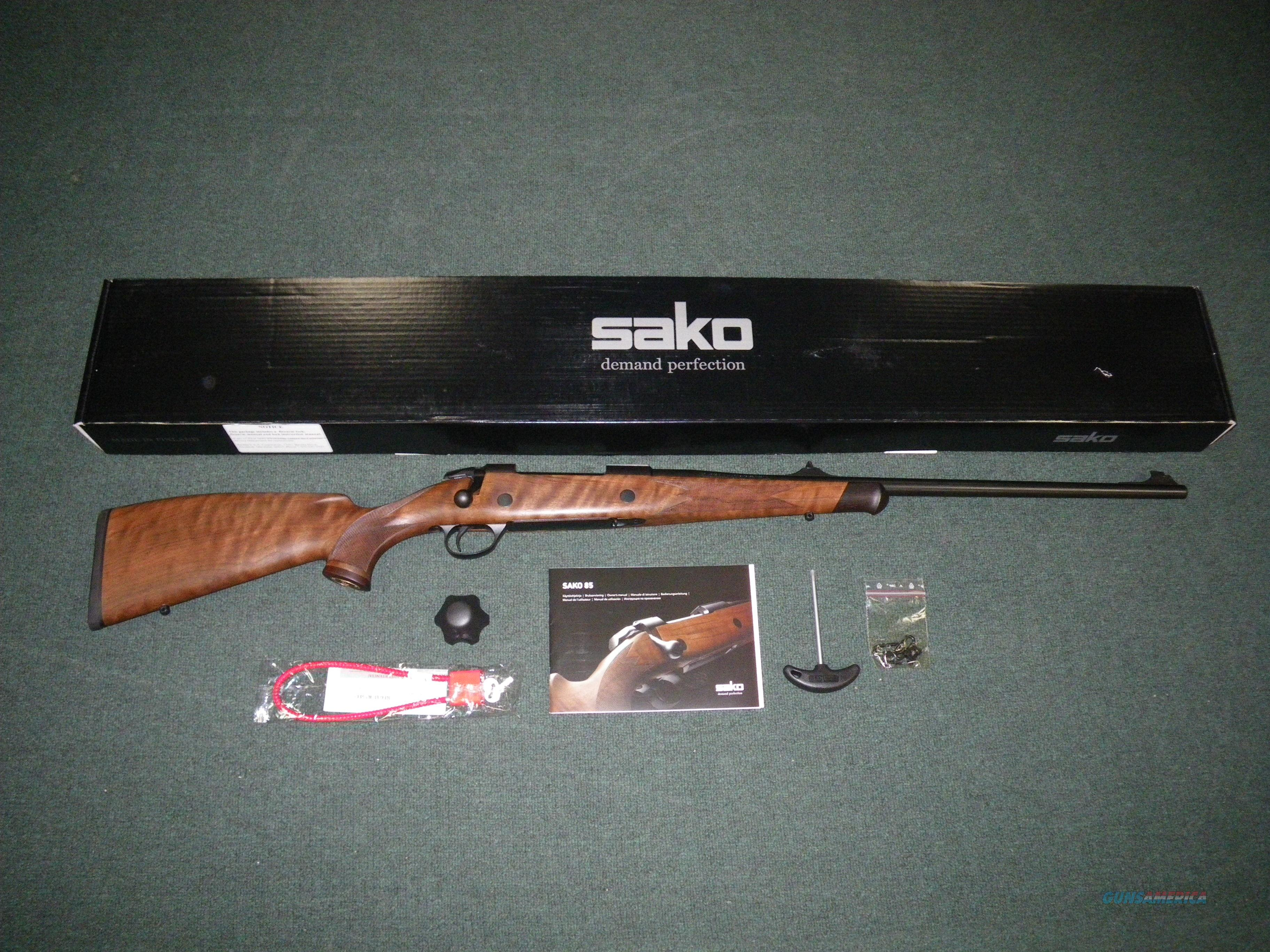 "Sako 85 Bavarian 270 Win 22.4"" Blue/Wood NEW #JRSBV18  Guns > Rifles > Sako Rifles > M85 Series"