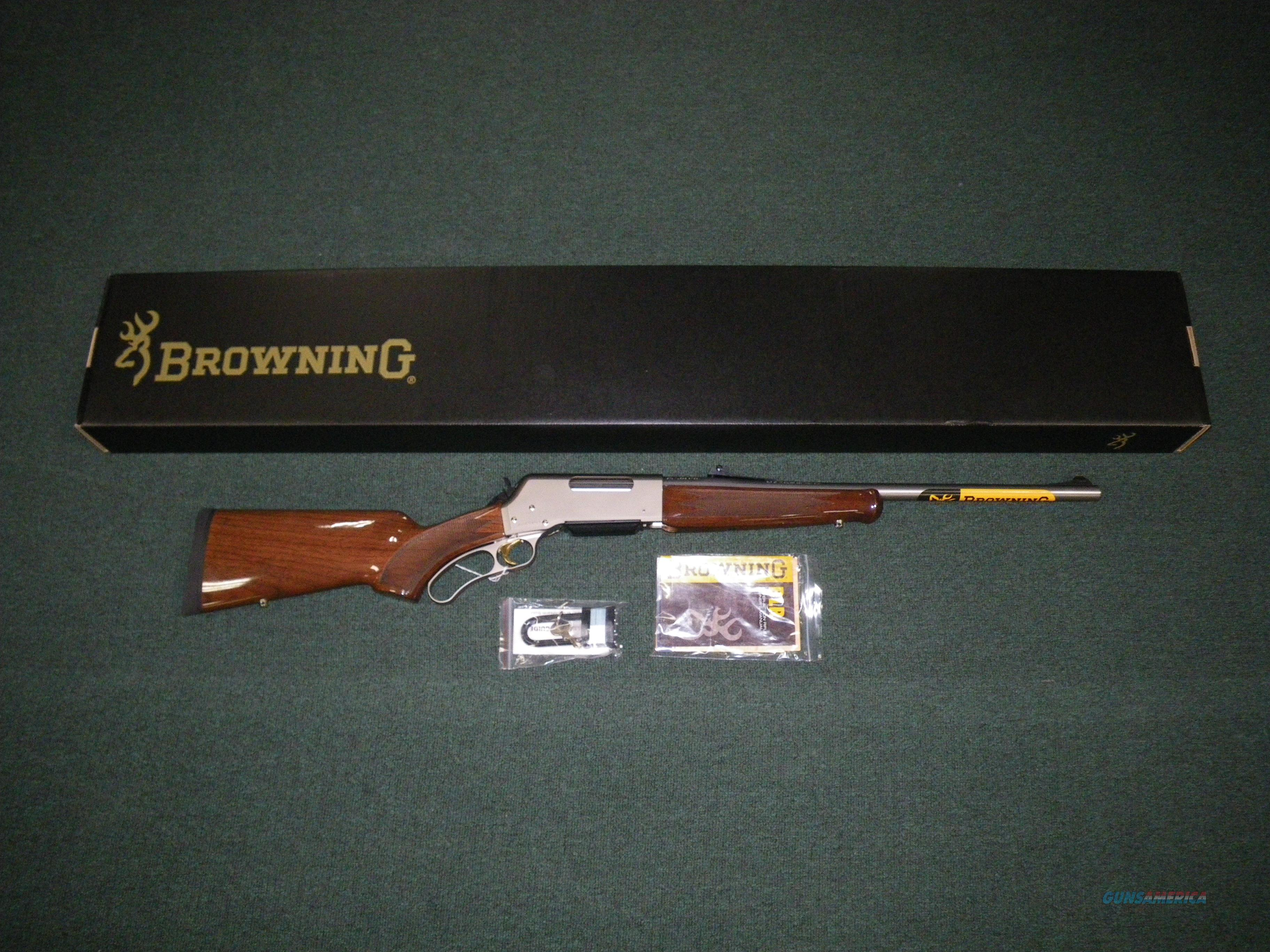 "Browning BLR Lightweight Pistol Grip 308 Win 20"" #034018118  Guns > Rifles > Browning Rifles > Lever Action"