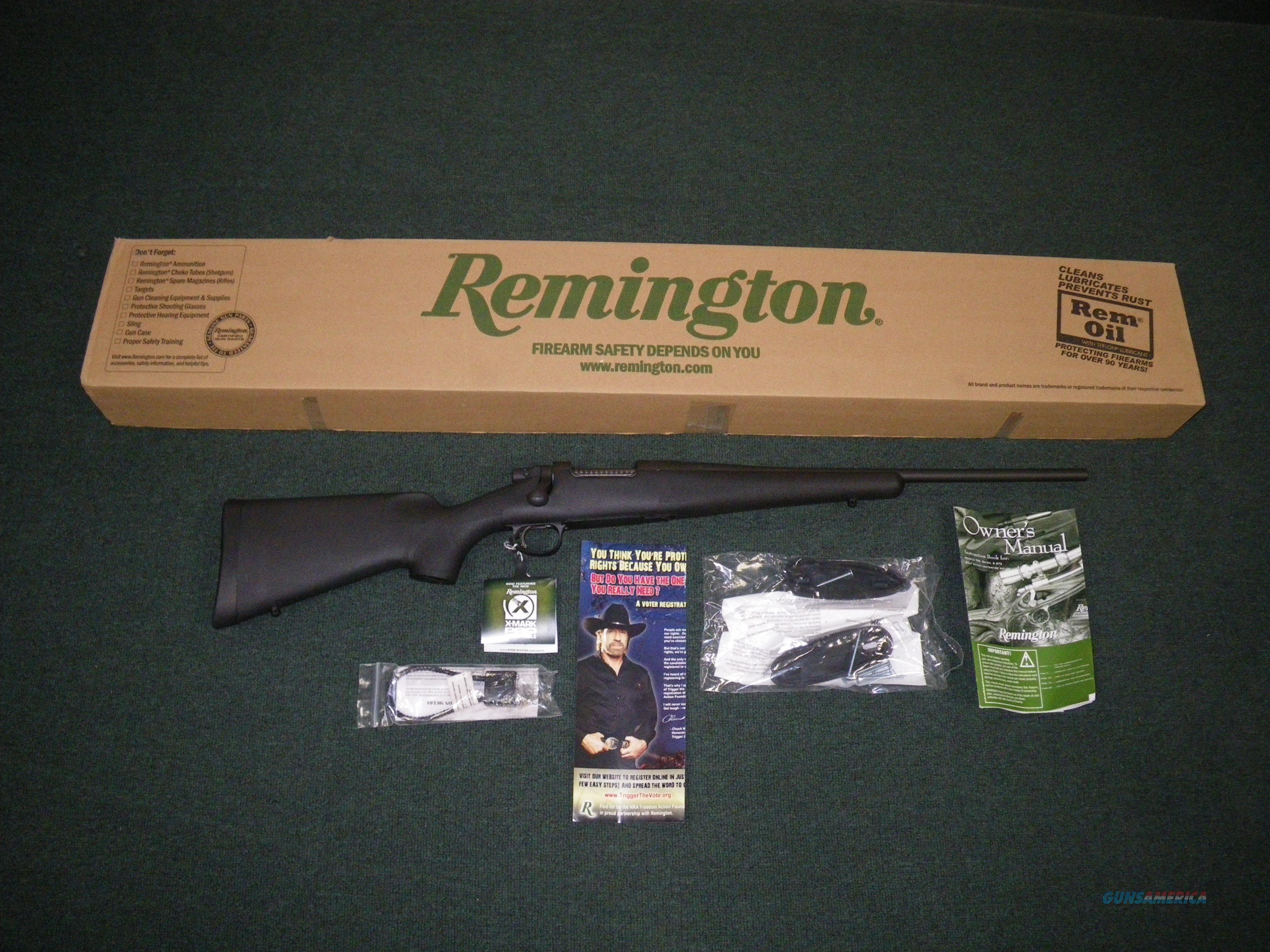 "Remington Model Seven Compact 243 Win 18.5"" NEW #85915  Guns > Rifles > Remington Rifles - Modern > Other"