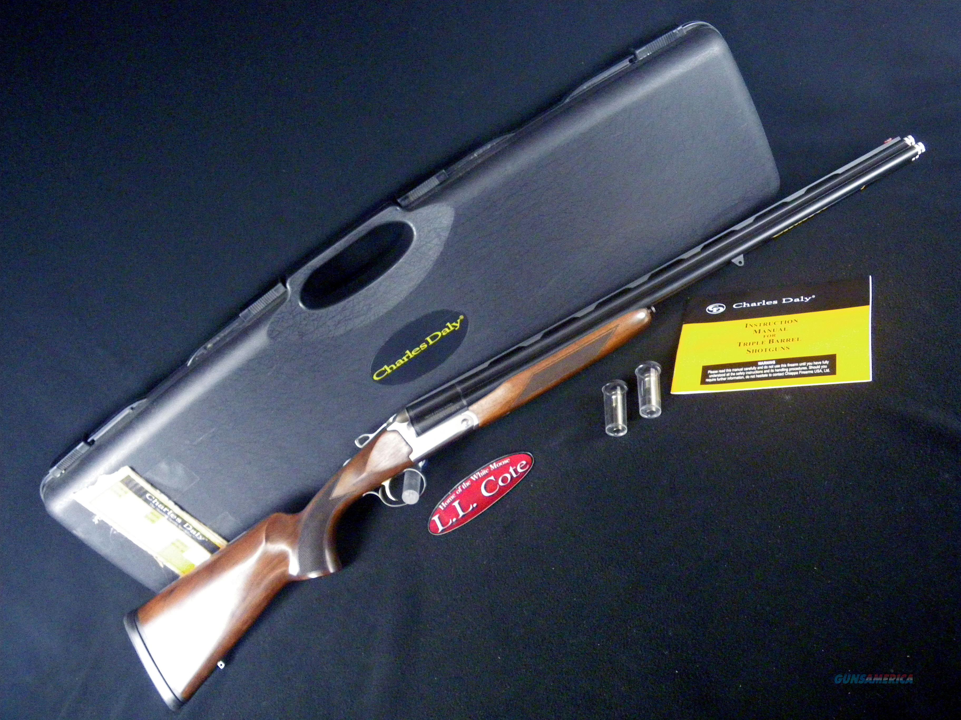 "Chiappa Triple Crown 410ga 26"" Wood NEW 3"" 930.083  Guns > Shotguns > Chiappa / Armi Sport Shotguns > Triple Threat"
