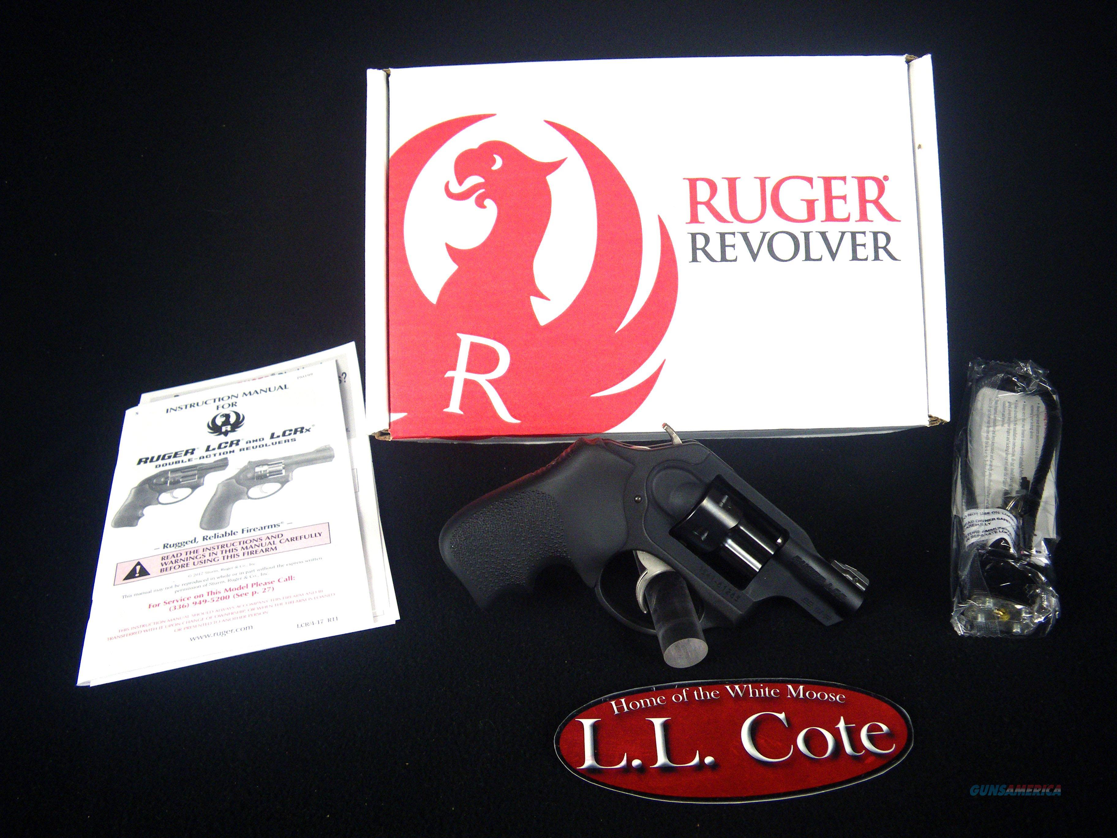 "Ruger LCRx 22wmr 1.87"" Black/Rubber 6rnd NEW 5439  Guns > Pistols > Ruger Double Action Revolver > LCR"
