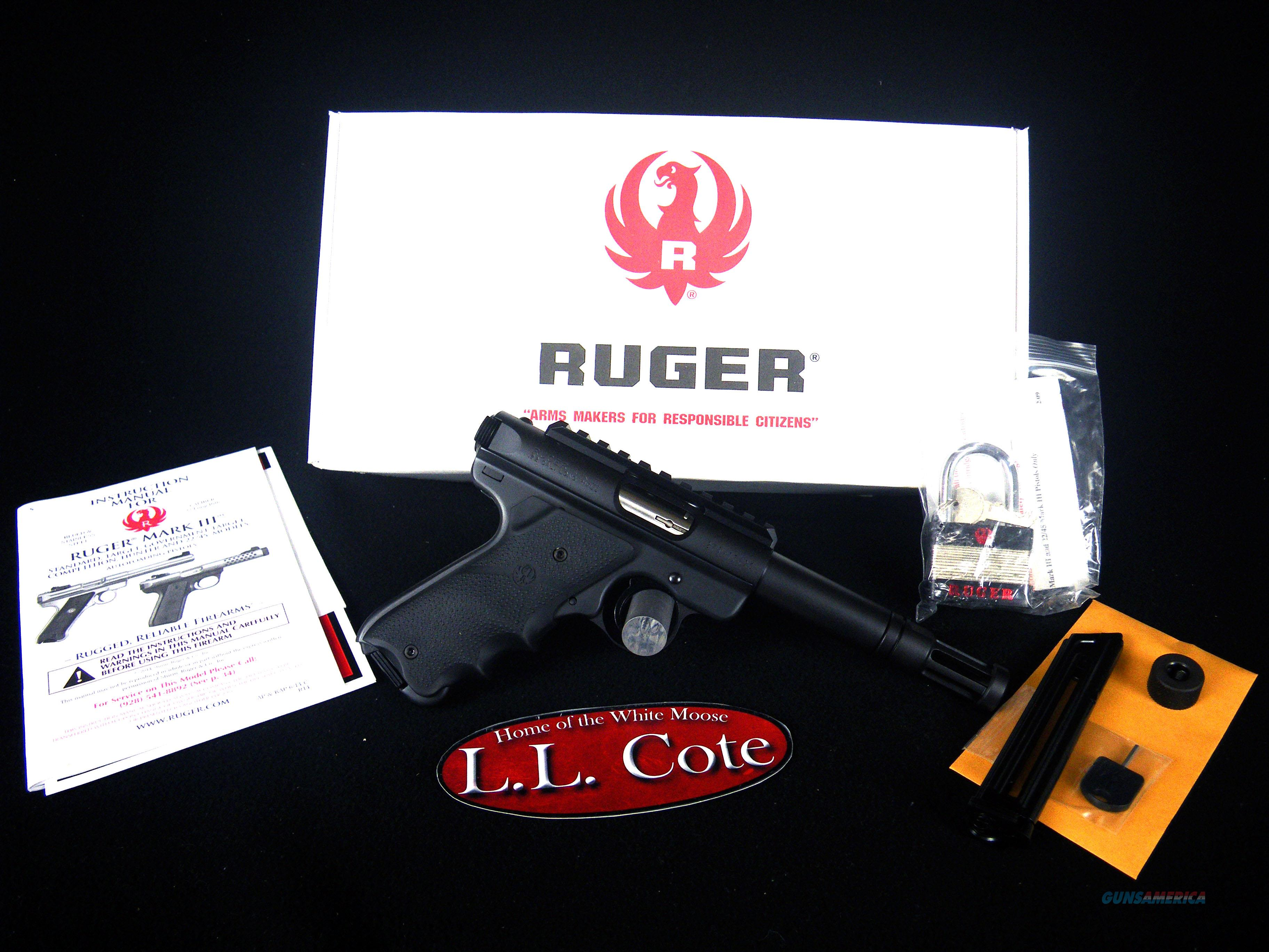"Ruger Mark III Talo 22lr 4"" Threaded NEW 10154  Guns > Pistols > Ruger Semi-Auto Pistols > Mark I/II/III/IV Family"