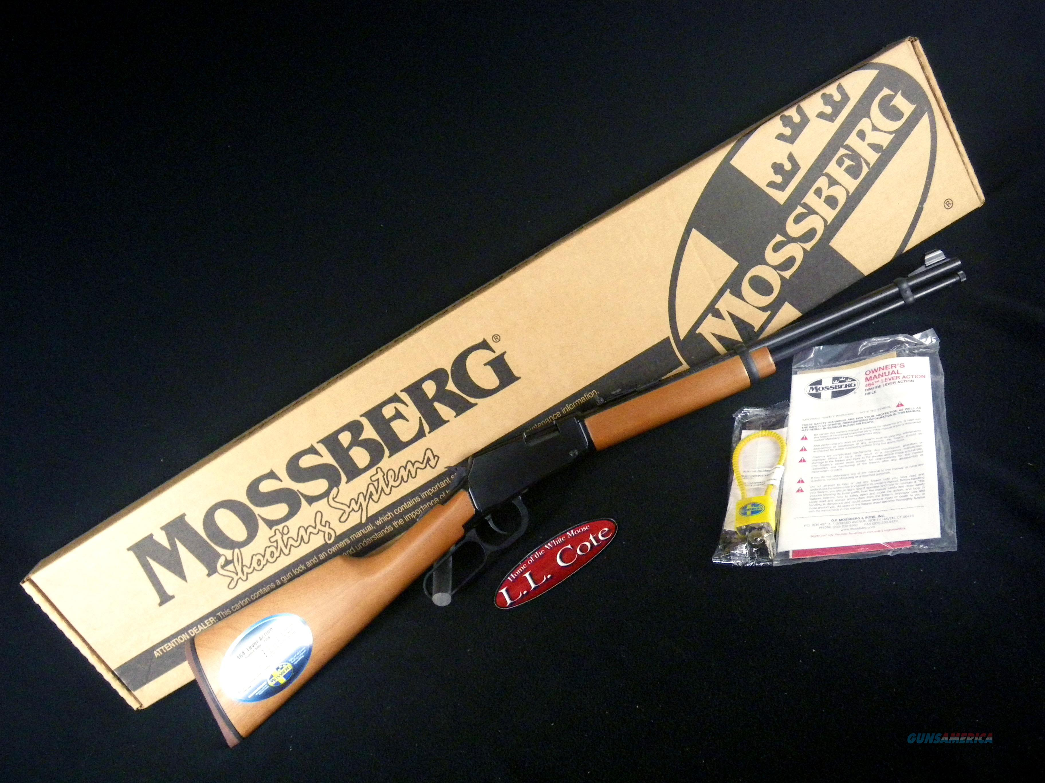 "Mossberg 464 Lever-Action Wood 22lr 18"" NEW 43000  Guns > Rifles > Mossberg Rifles > Lever Action"