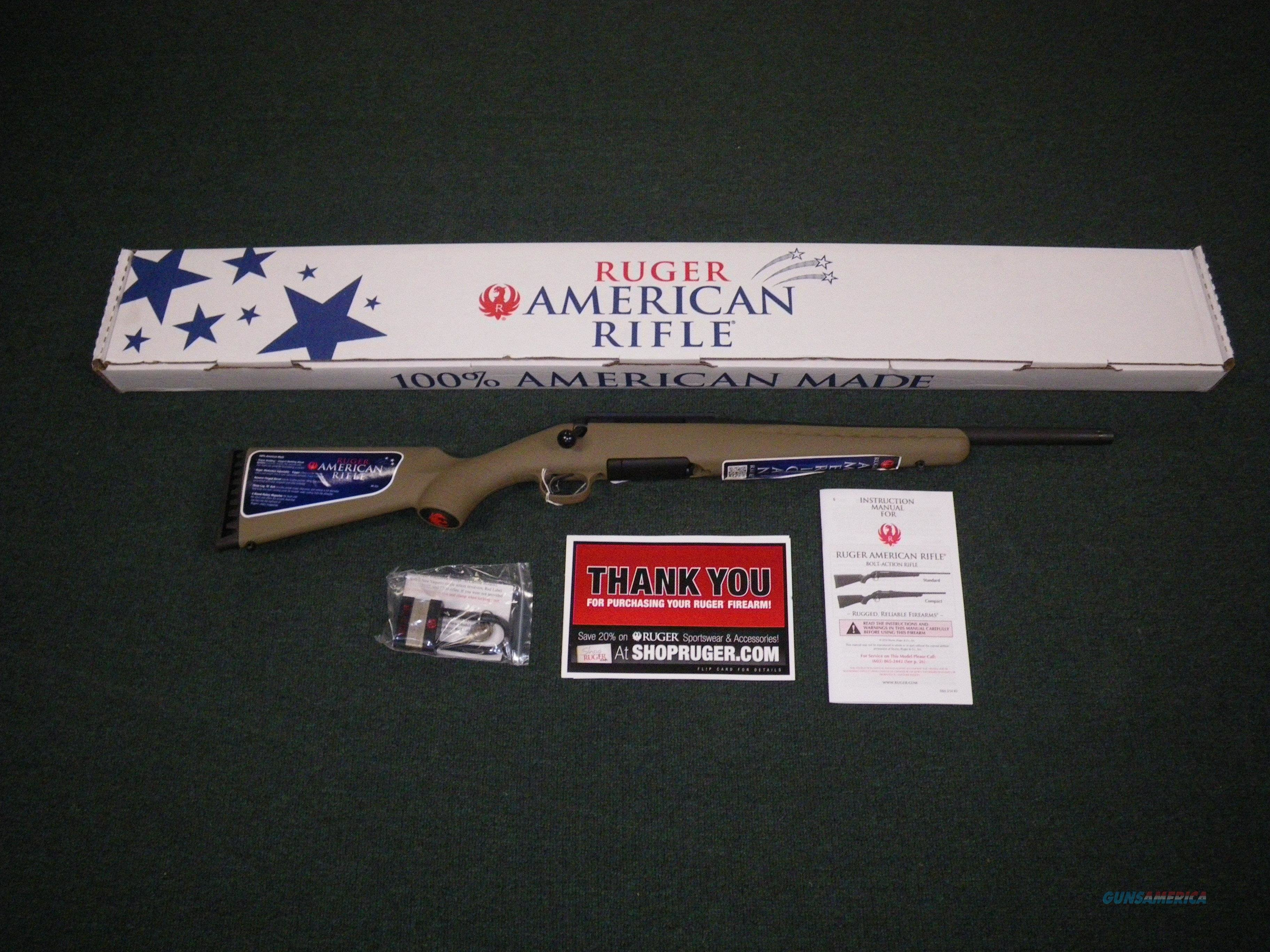 "Ruger American Ranch Threaded Brl 5.56/223 Rem 16"" #6967  Guns > Rifles > Ruger Rifles > American"