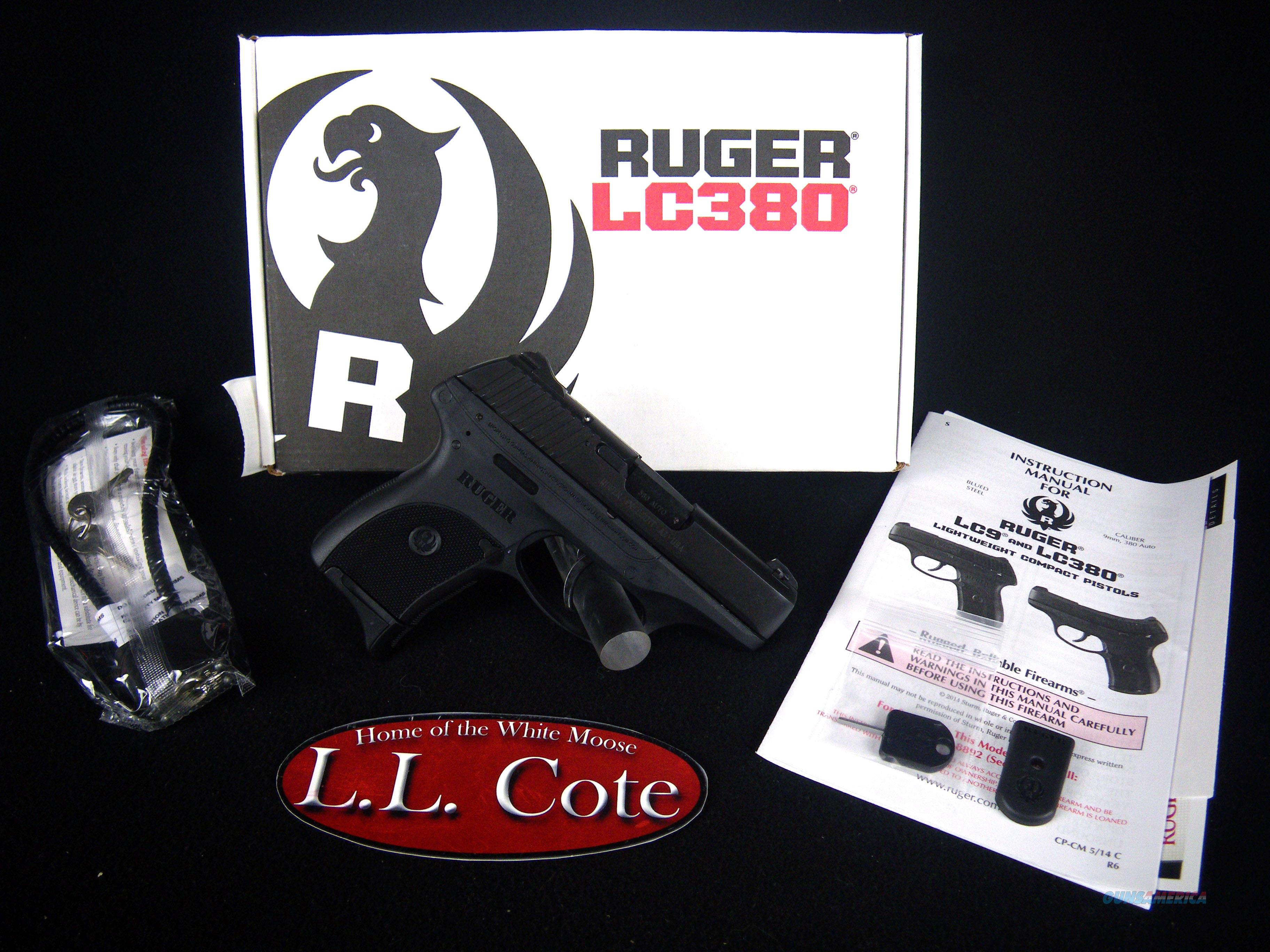 "Ruger LC380 380ACP 3.12"" NEW Blued/Synthetic 3219  Guns > Pistols > Ruger Semi-Auto Pistols > LC380"