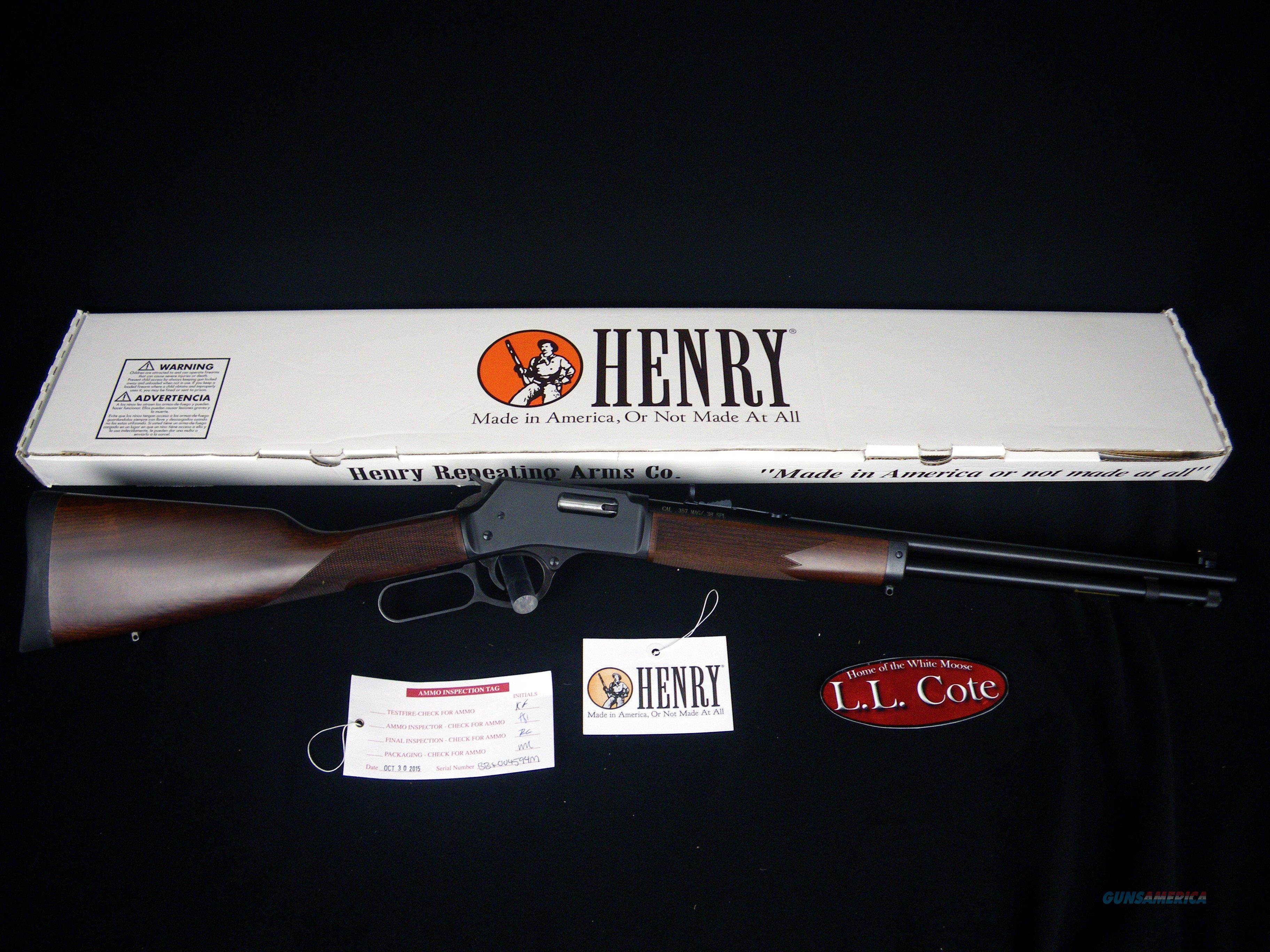 "Henry Big Boy Steel 41 Magnum 20"" NEW H012M41  Guns > Rifles > Henry Rifle Company"