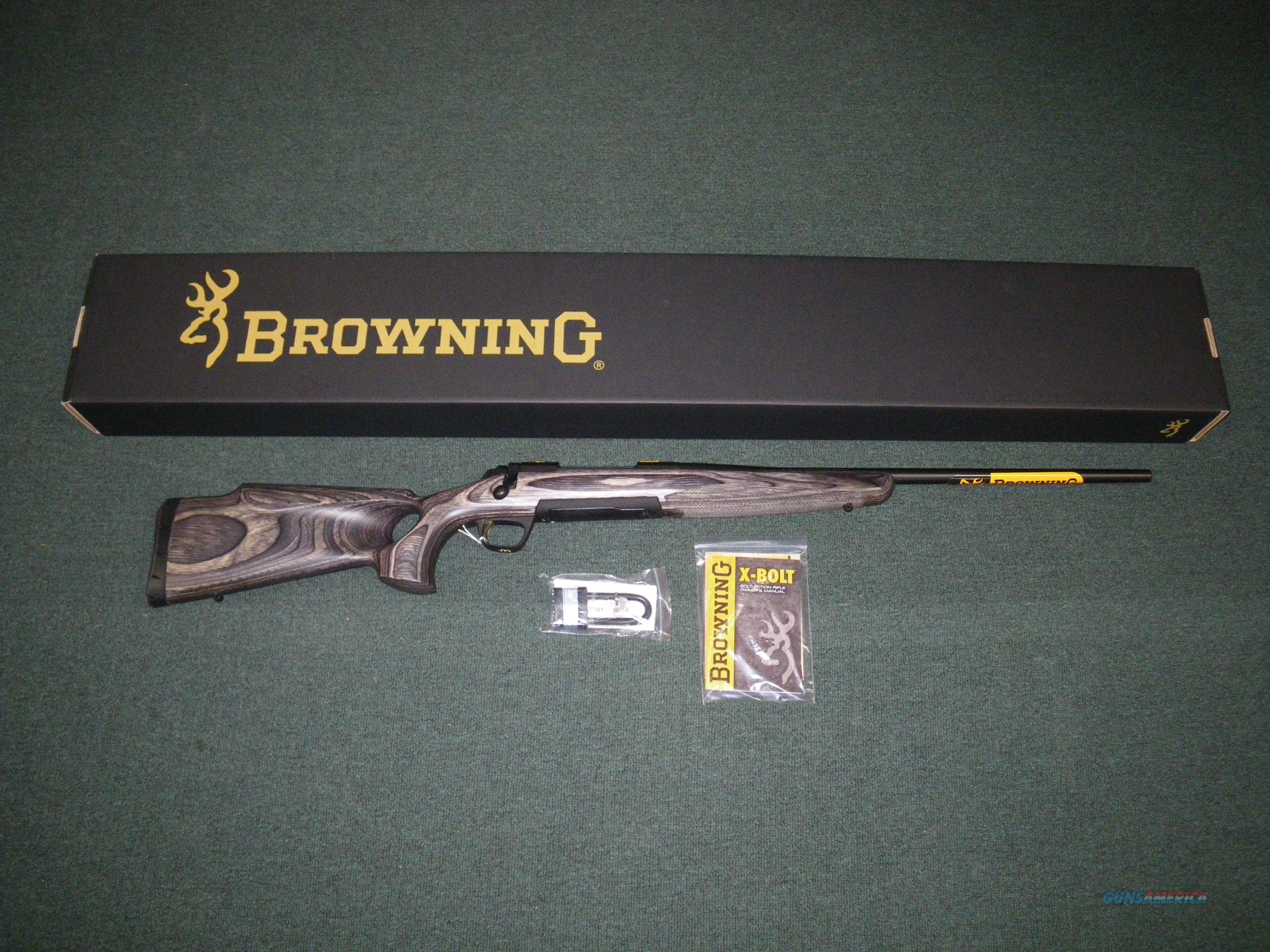 "Browning X-Bolt Eclipse Hunter 22-06 Rem 24"" NIB #035299223  Guns > Rifles > Browning Rifles > Bolt Action > Hunting > Blue"