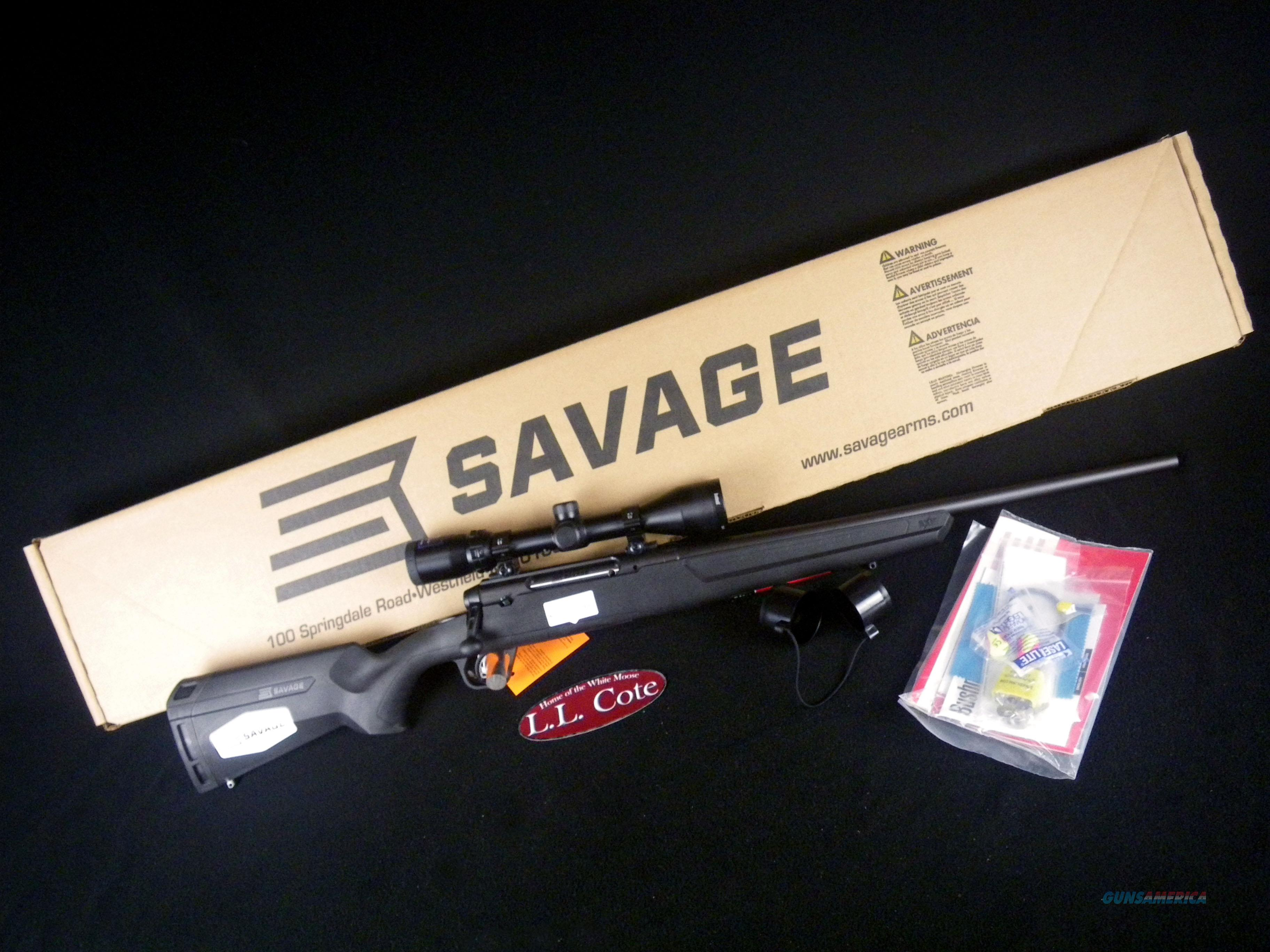 "Savage Axis II XP Compact 243 Win 20"" Scoped NEW 57099  Guns > Rifles > Savage Rifles > Axis"