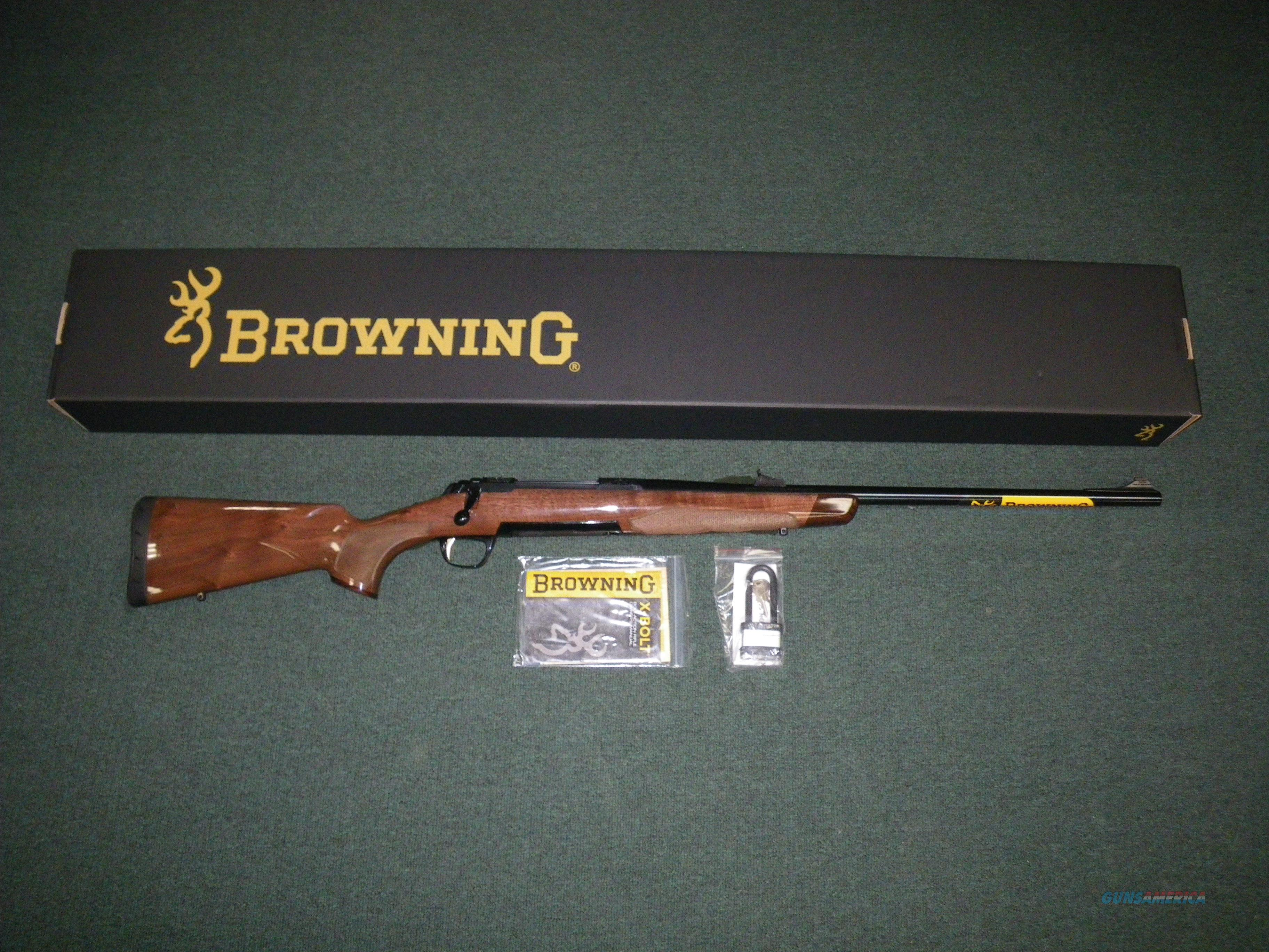 "Browning X-Bolt Medallion Open Sight 300 H&H 24"" NEW #035200171  Guns > Rifles > Browning Rifles > Bolt Action > Hunting > Blue"