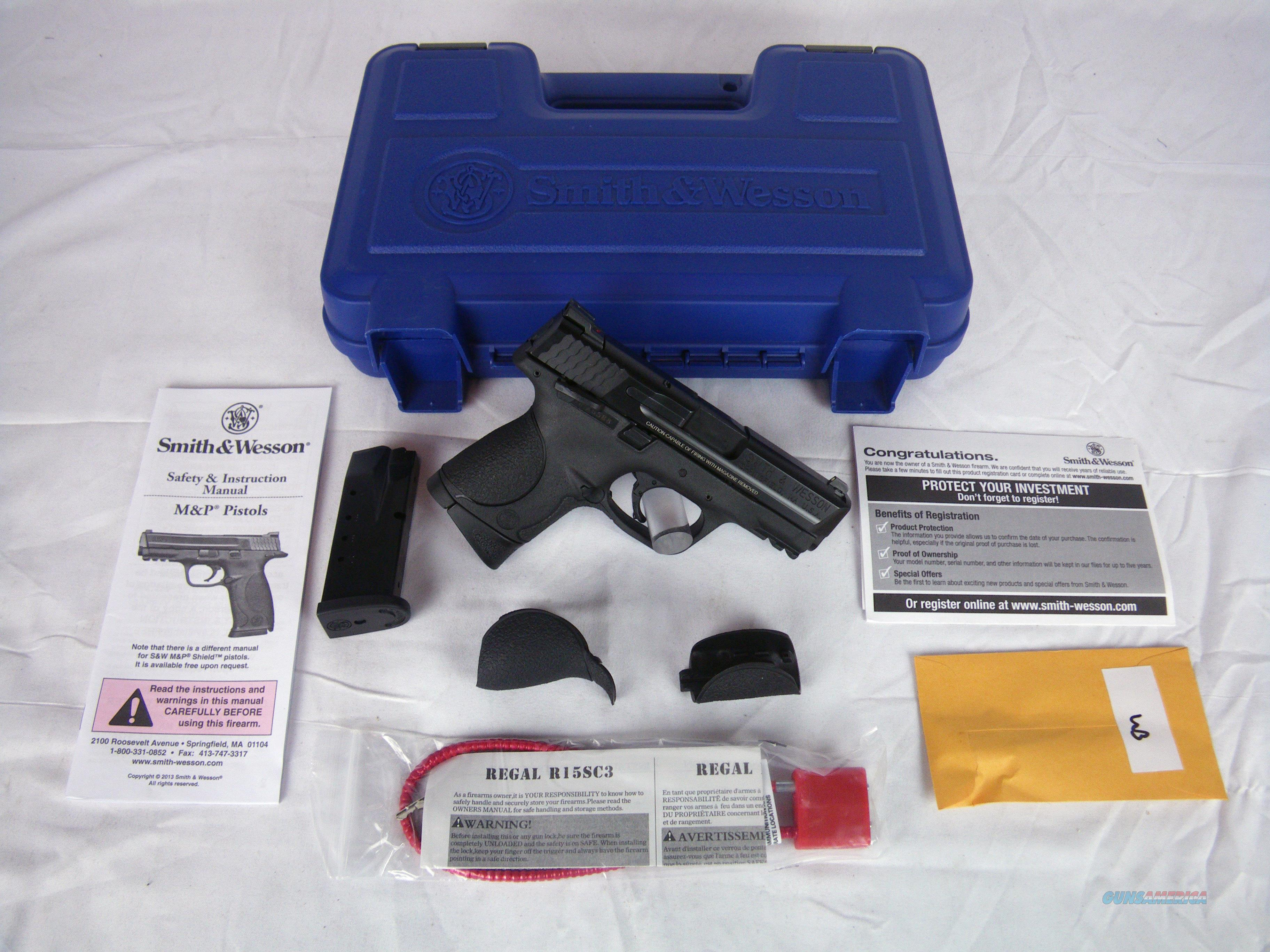 "Smith & Wesson M&P 40 S&W Compact 3.5"" NEW #106303  Guns > Pistols > Smith & Wesson Pistols - Autos > Polymer Frame"