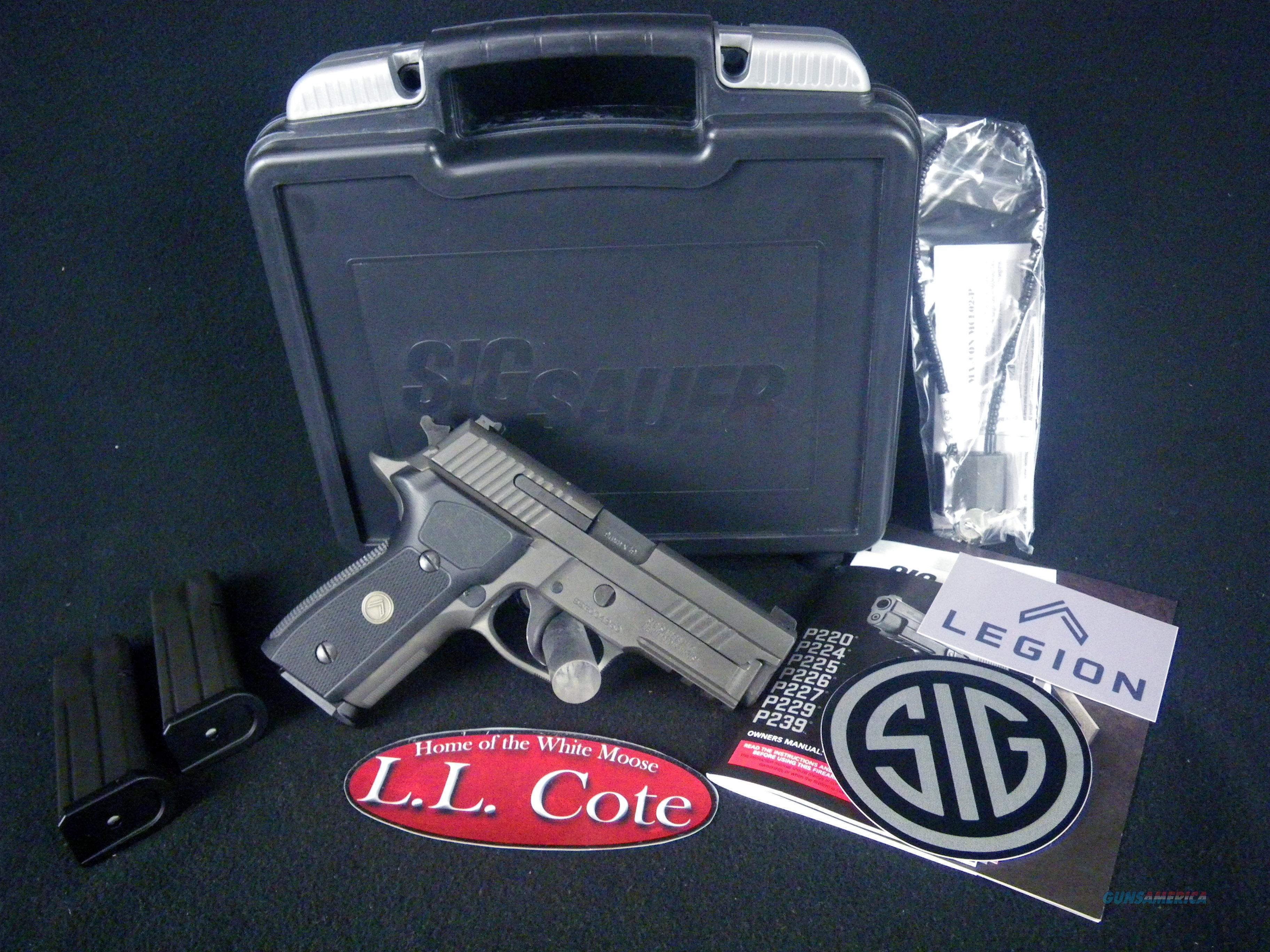 "Sig Sauer P229 Legion Compact PVD 9mm 3.9"" NEW E29R-9-LEGION  Guns > Pistols > Sig - Sauer/Sigarms Pistols > P229"