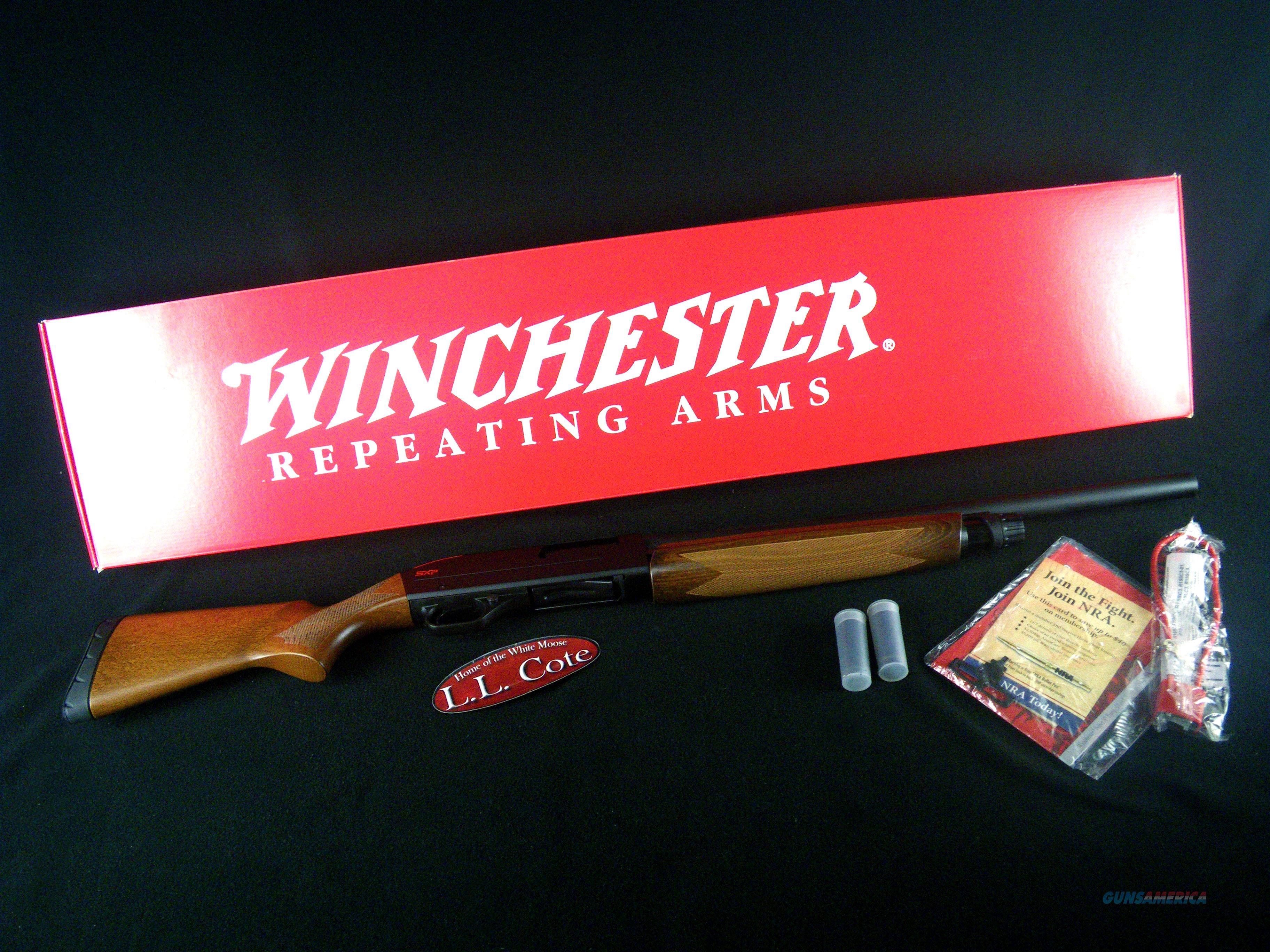 "Winchester SXP Field Youth 12ga 20"" NEW 512367302  Guns > Shotguns > Winchester Shotguns - Modern > Pump Action > Hunting"